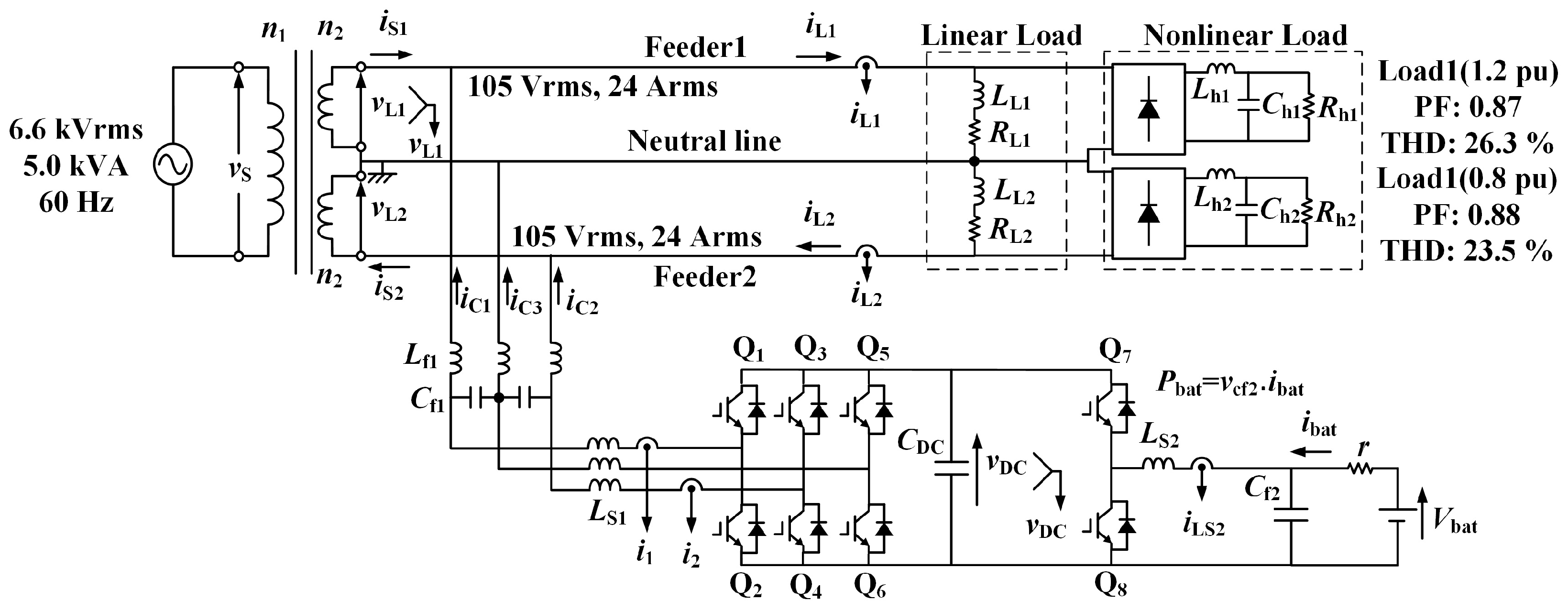 Energies Free Full Text Improvement In Harmonic Compensation Of Capacitor Charging Circuit No