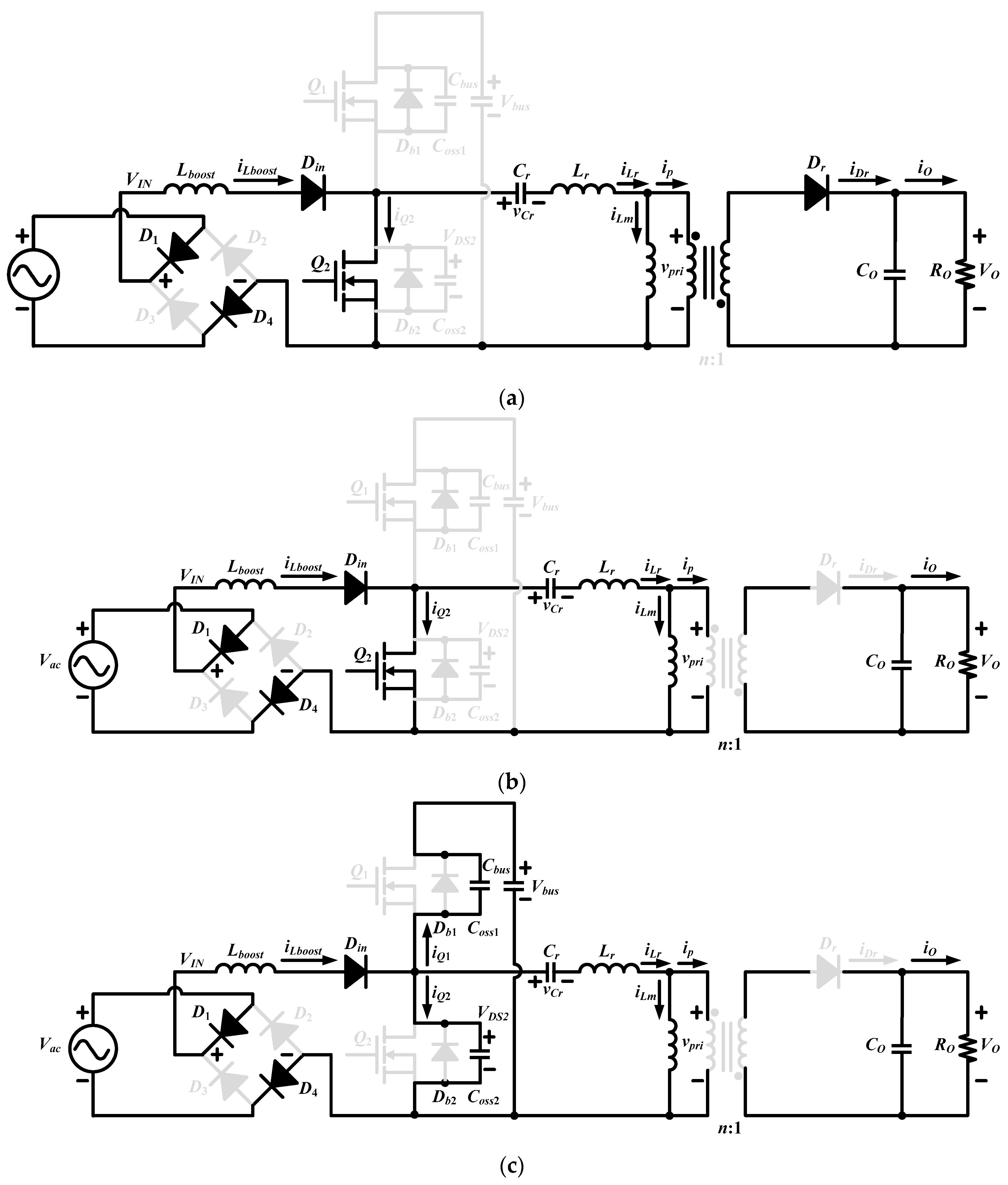 Energies Free Full Text A Single Stage Asymmetrical Half Bridge Symmetrical Regulated Power Supply Schematiccircuit Diagram World No