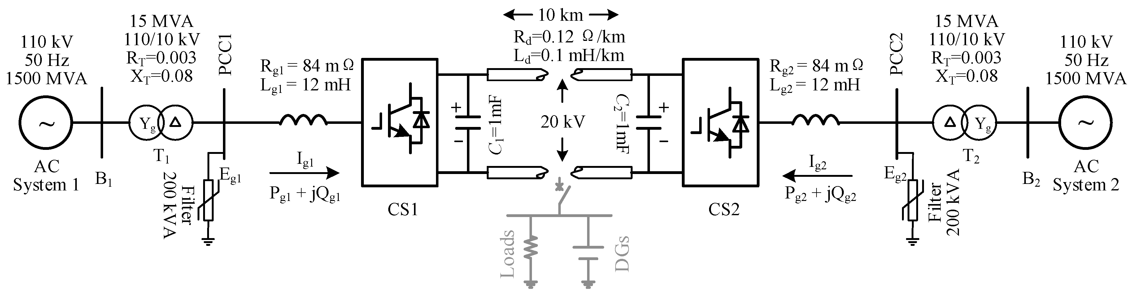 Energies Free Full Text Pidr Sliding Mode Current Control With Constantcurrentsourceconverter Basiccircuit Circuit Diagram No