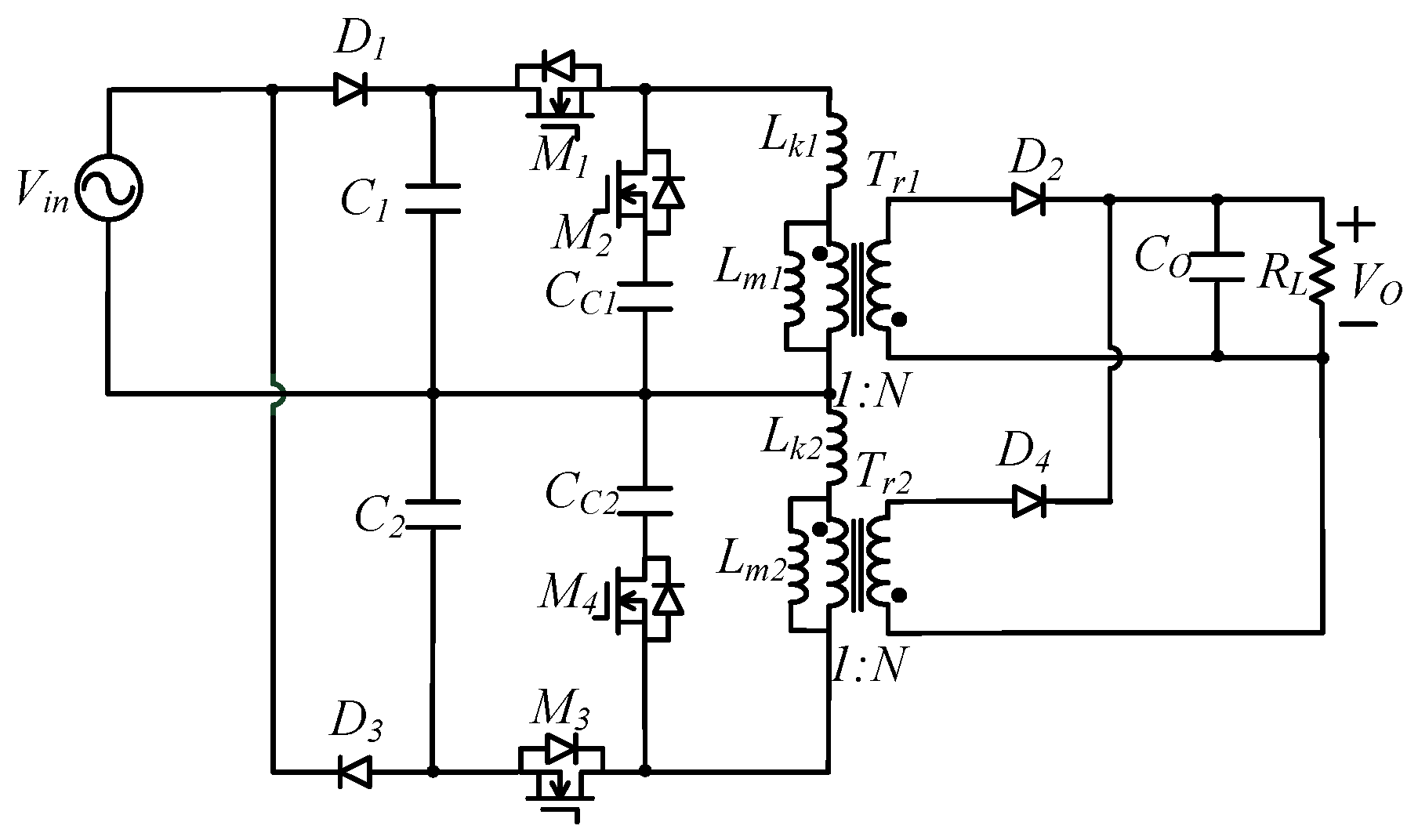Energies Free Full Text Power Factor Corrector With Bridgeless Basic Single Output Flyback Converter Circuit Diagram No