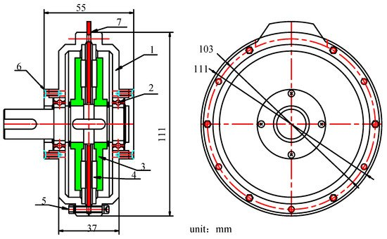 Energies Free Full Text Winding Design And Analysis For A Disc Type Permanent Magnet Synchronous Motor With A Pcb Stator Html