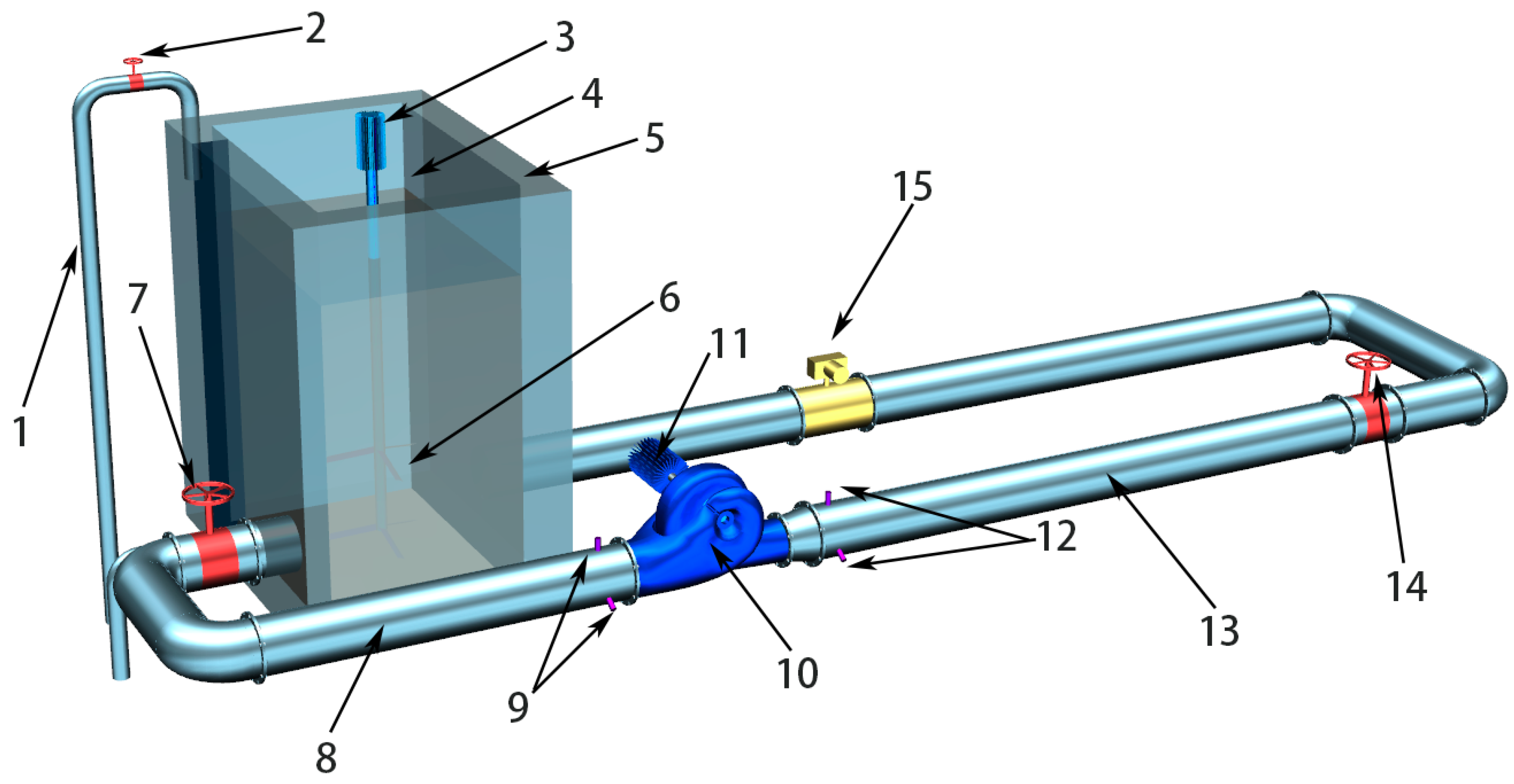 Energies Free Full Text Alternative Design Of Double Suction Centrifugal Pump To Reduce The Effects Of Silt Erosion Html