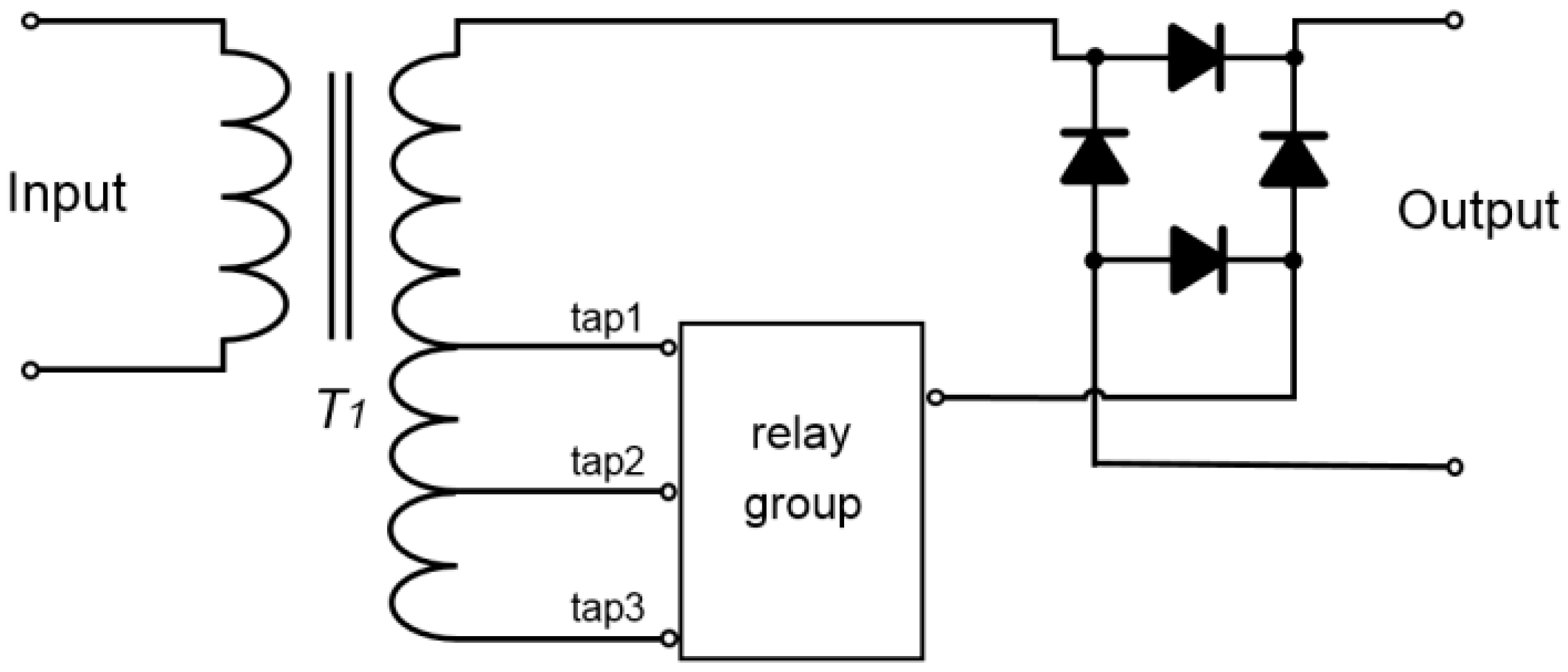 diagram moreover large current relay with dual output dc dc Current Relay Wiring Diagram