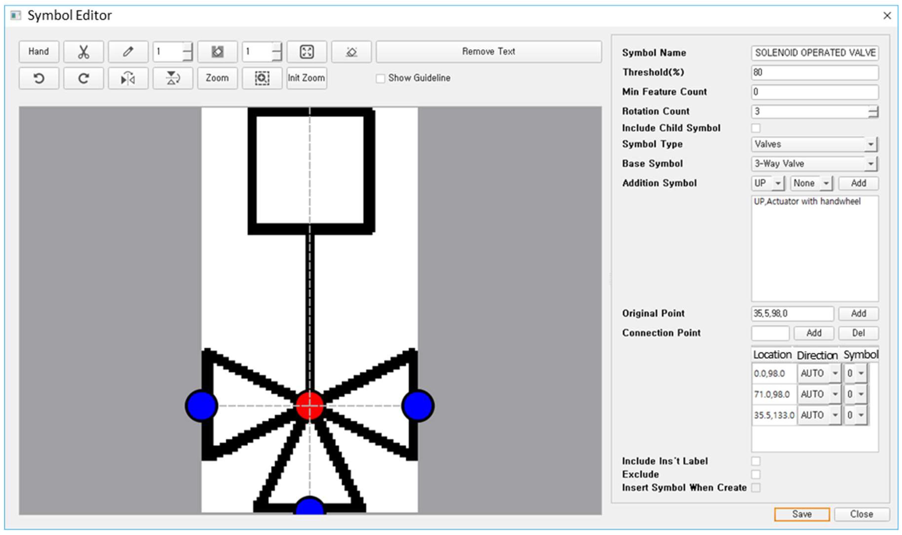 Luca Wire Diagram Symbol