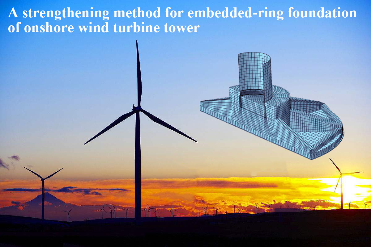 Energies Free Full Text Numerical Investigation Of The Strengthening Method By Circumferential Prestressing To Improve The Fatigue Life Of Embedded Ring Concrete Foundation For Onshore Wind Turbine Tower Html