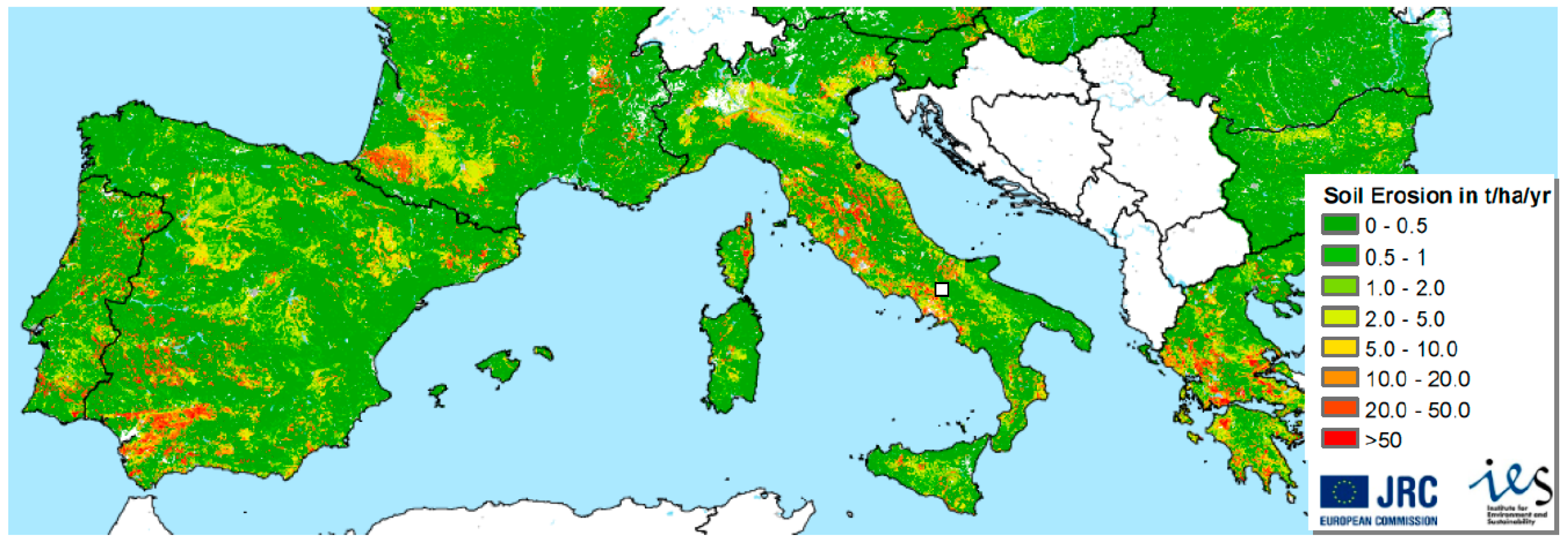 Environments free full text modeling and upscaling for Soil 4 climate