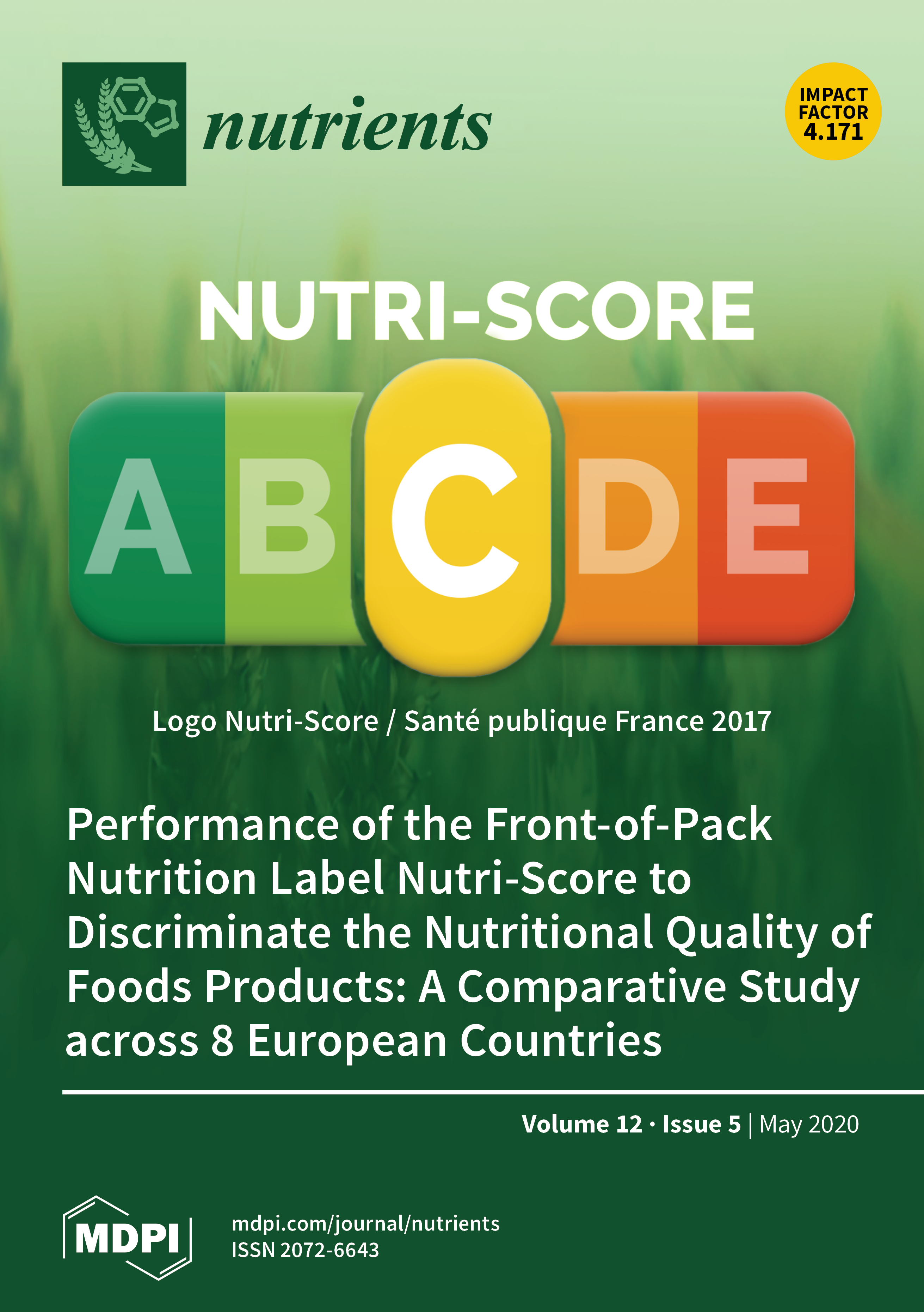 Nutrients May 2020 Browse Articles