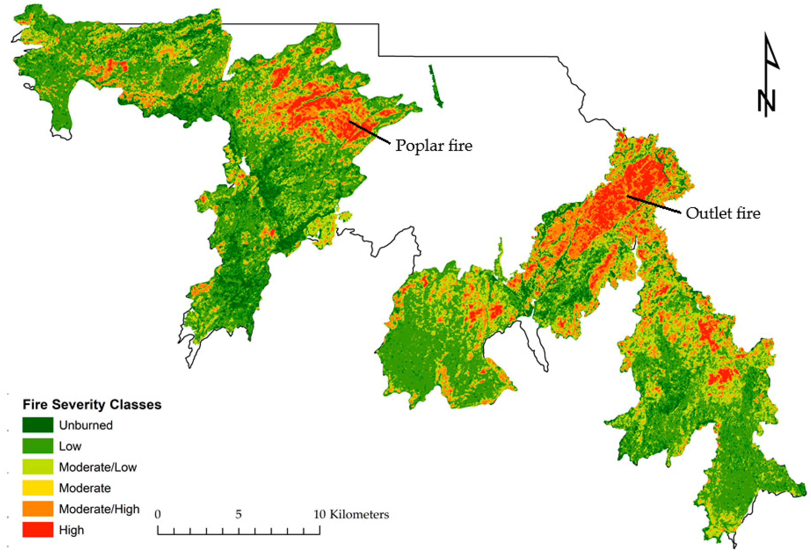 Rim Of Fire Map.Fire Free Full Text Assessing The Relationship Between Forest