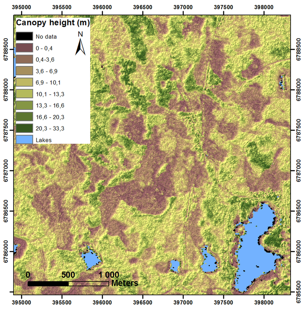 Forests Free FullText Combining Lidar And Synthetic Aperture - Us forest biomass map