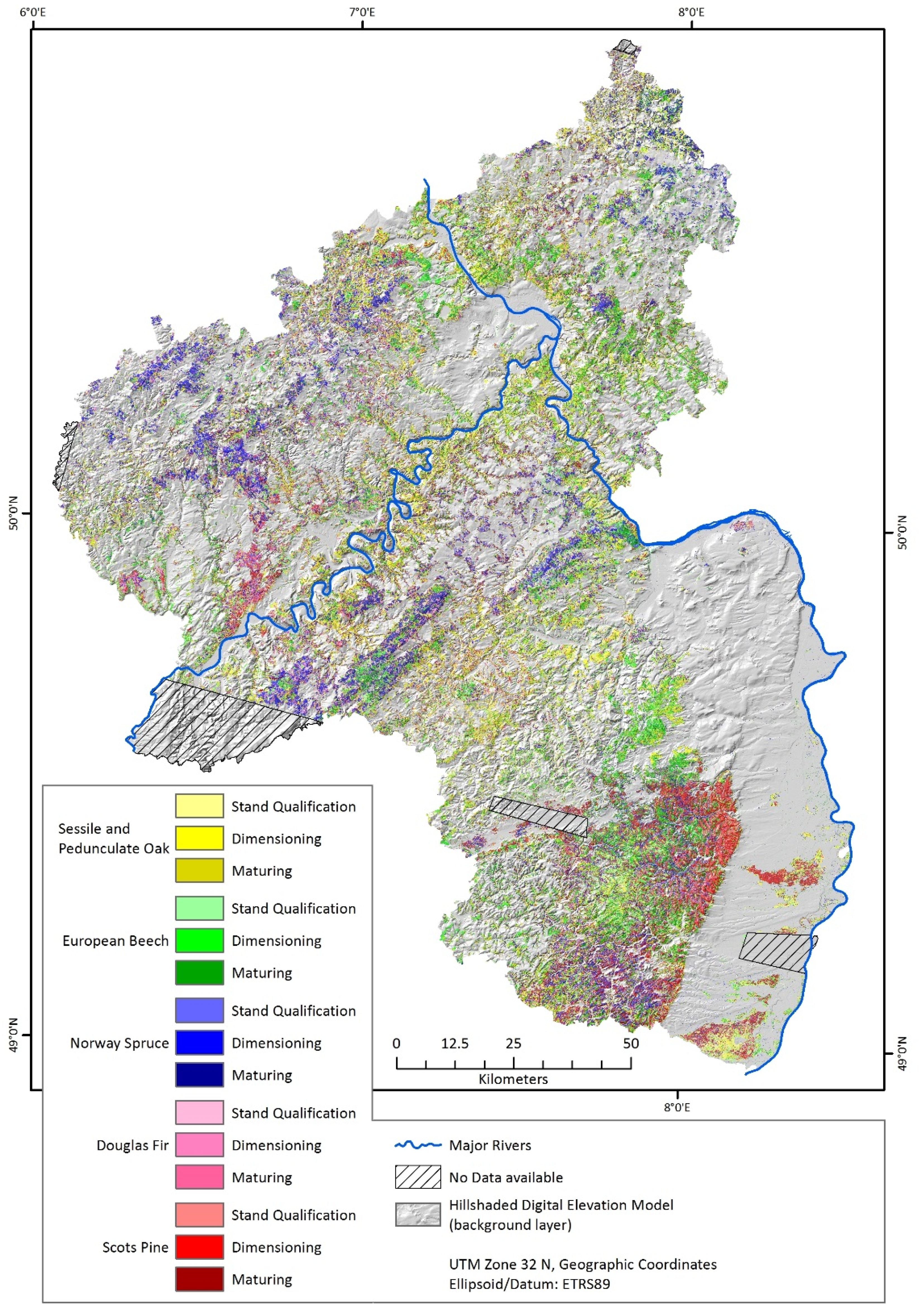 Forests | Free Full-Text | Satellite-Based Derivation of