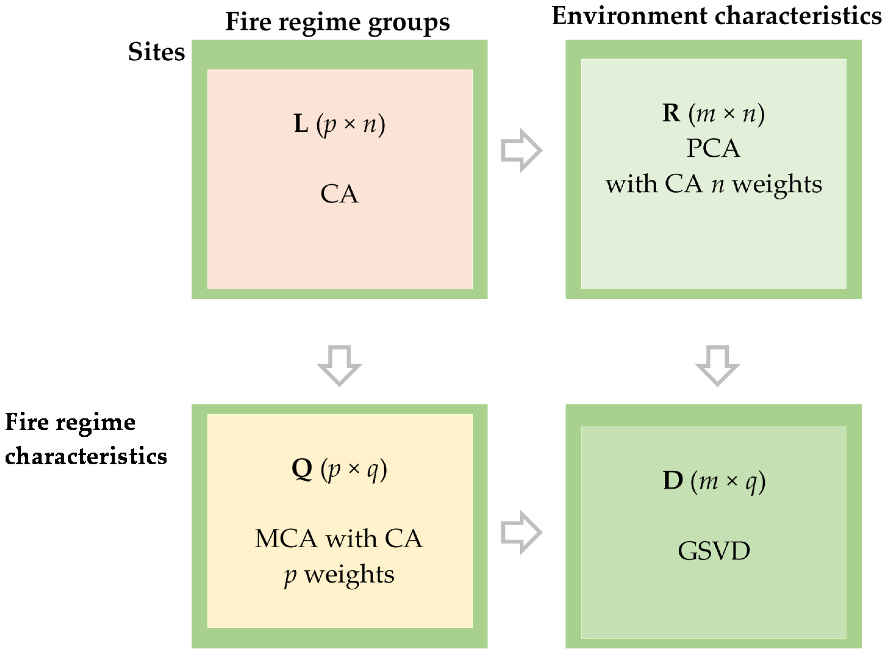 Forests Free FullText Fire Regime Characteristics along