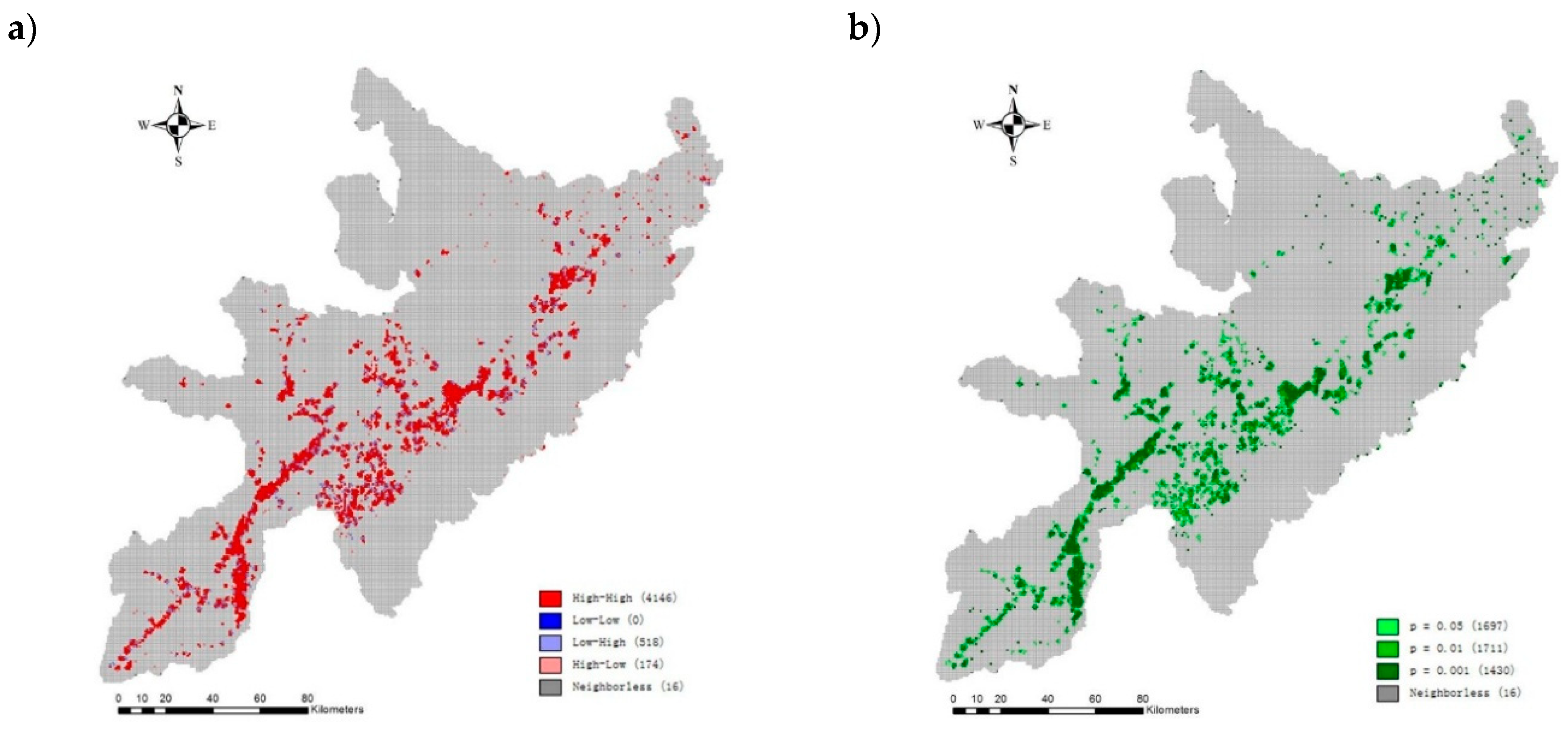 Forests Free Full Text Spatial Autocorrelation Analysis Of Multi