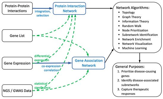 Genes | Free Full-Text | Biological Network Approaches and ...