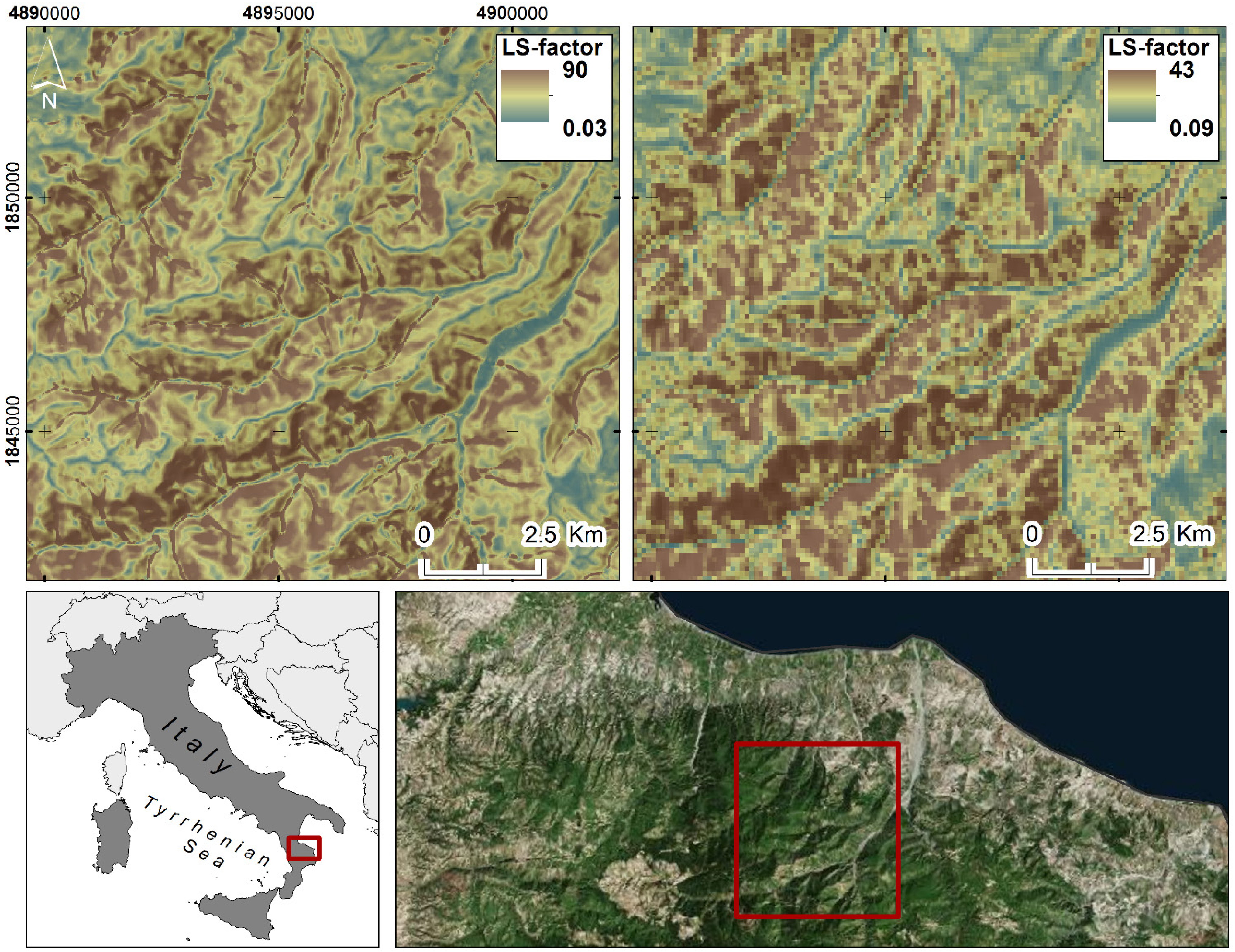 Geosciences free full text a new european slope length for Soil research impact factor