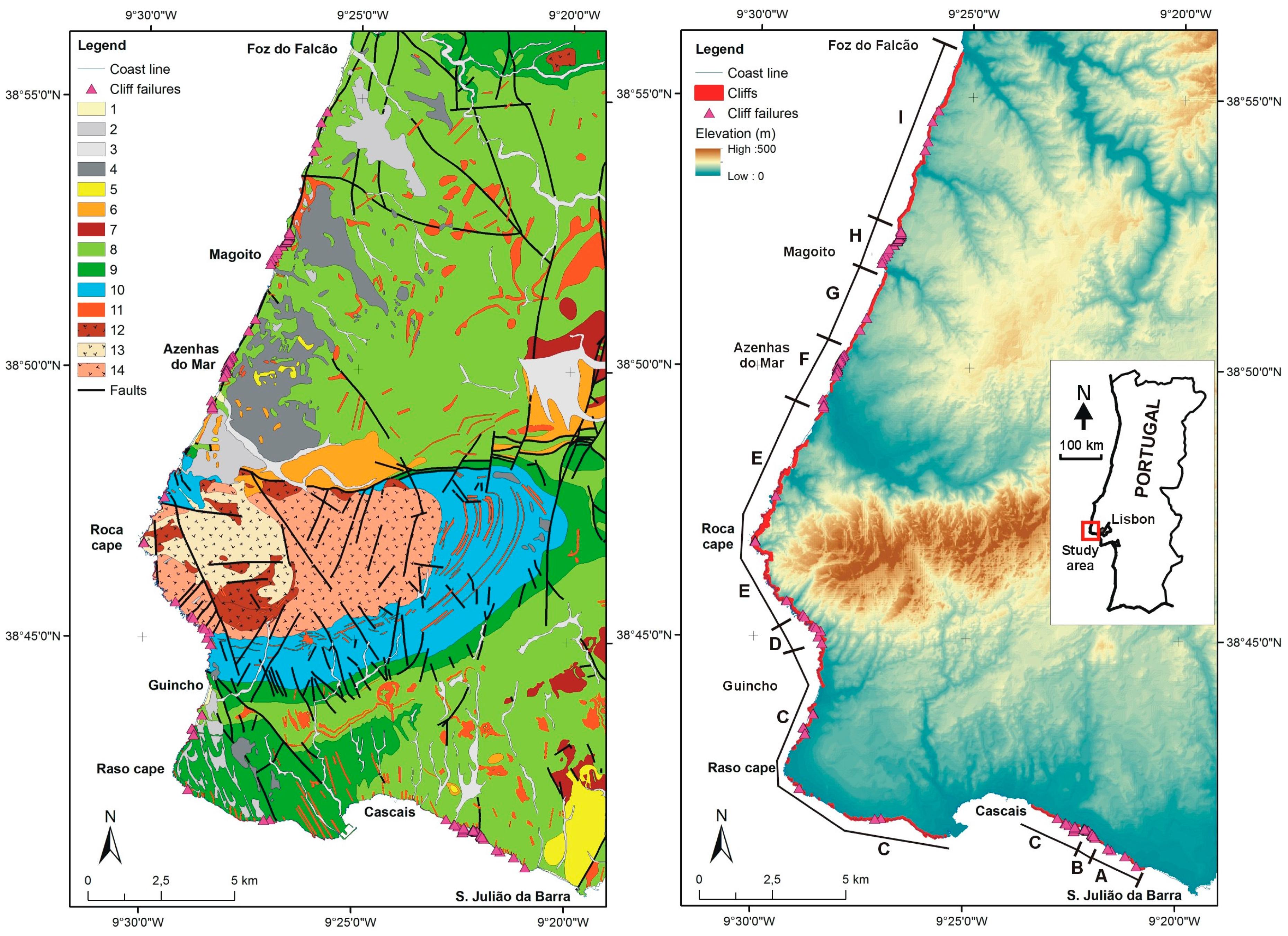 Geosciences | Free Full-Text | Regional Scale Sea Cliff Hazard ... on