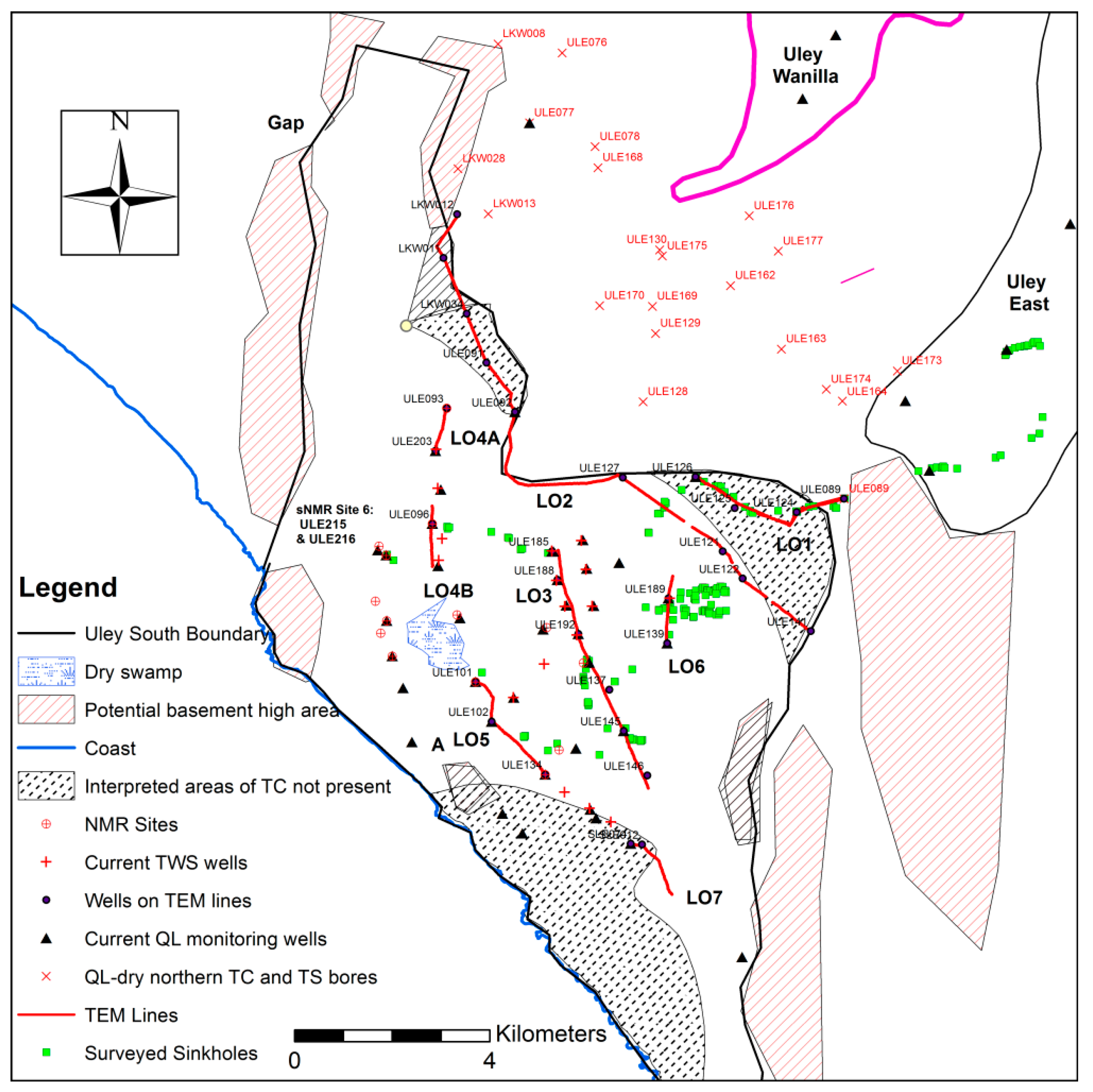 Geosciences Free Full Text Geophysical Input To Improve The Wiring Diagram 2000 National Tropical 08 00226 G005