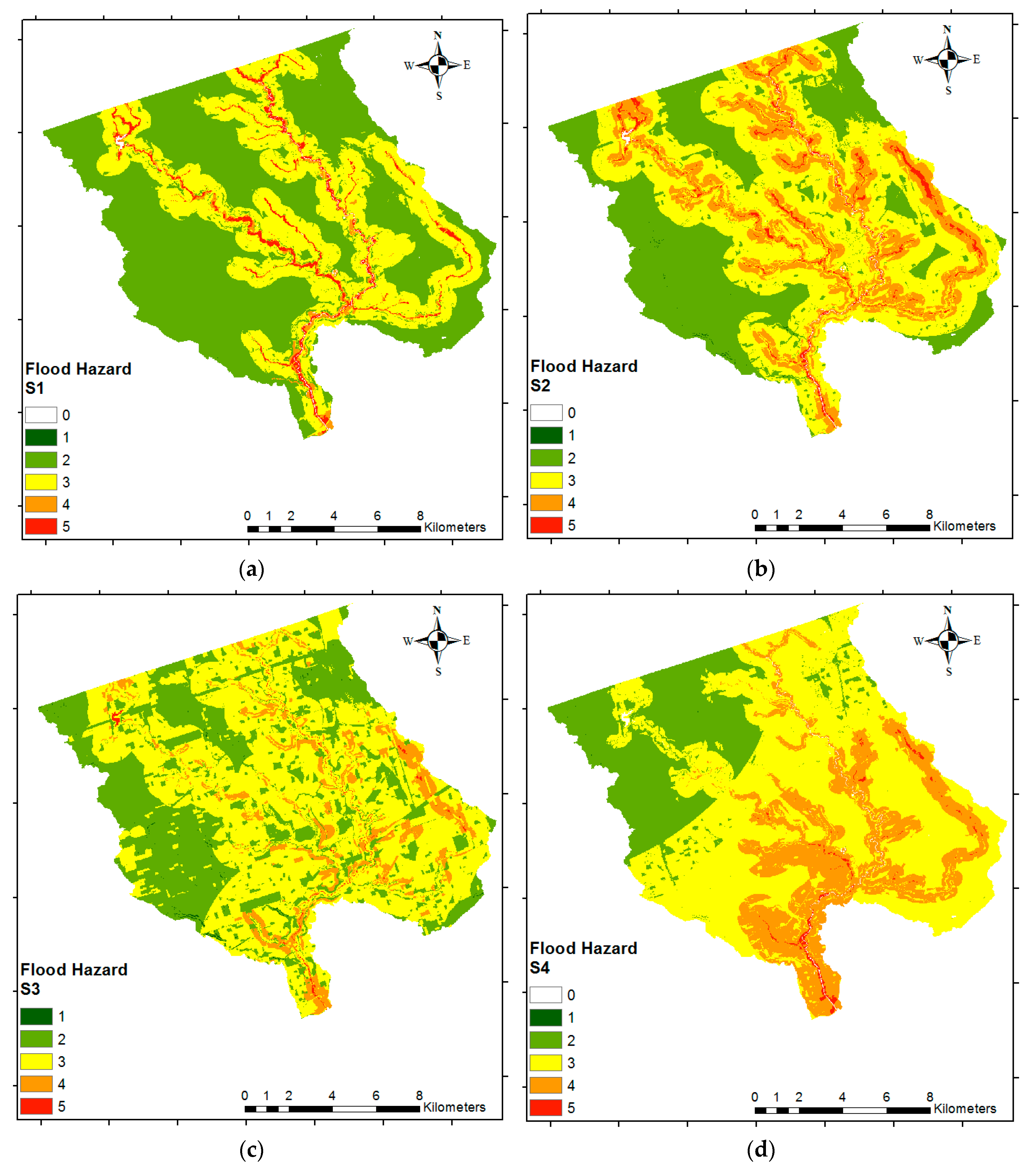 Geosciences | Free Full-Text | Flood Risk Mapping Using GIS ... on sialkot map, noaa weather map, county plat map, madison county floodplain map, kalamazoo michigan map, bangladesh climate map, contour lines on a map, global warming map, christian county missouri map, scott county il map, floodplain elevation map, bayonne crime map, bangladesh river map, switzerland climate map, area code map, texas floodplain map, annual precipitation map, climate change map, snow interactive map, data visualization map,