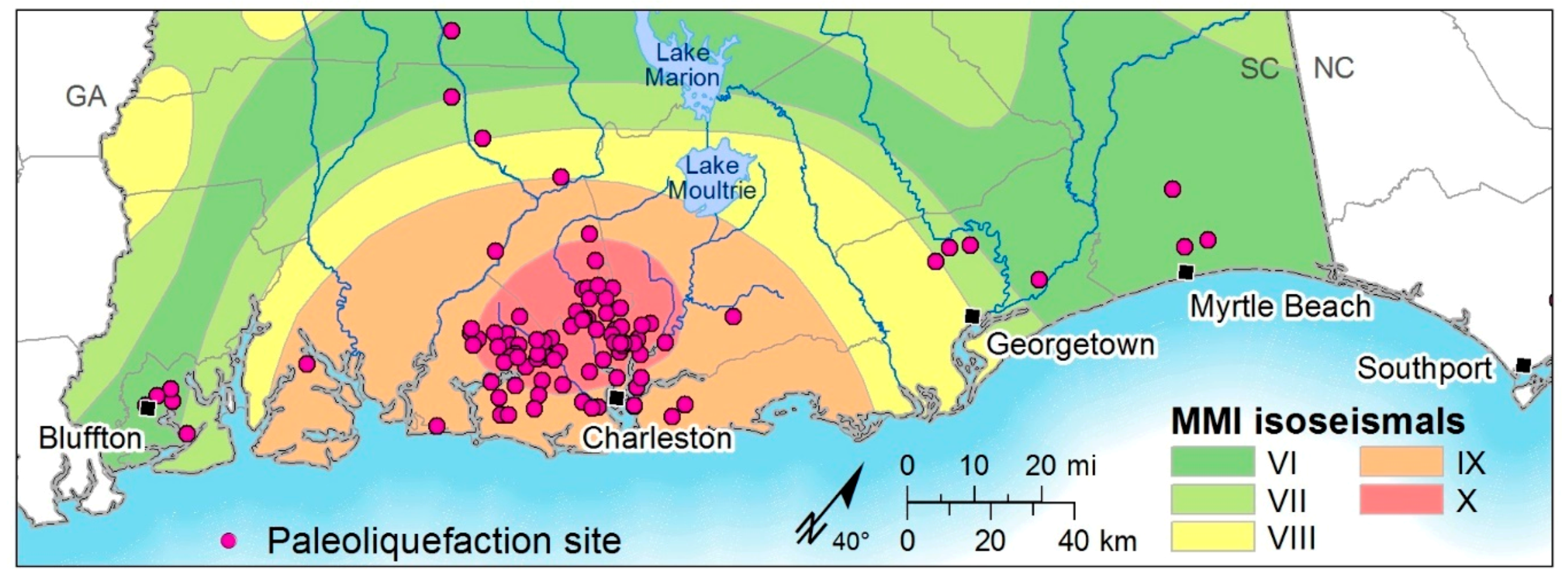 Geosciences   Free Full-Text   Paleoliquefaction Stus and ... on 1999 chamoli earthquake, seattle seismic map, yellowstone super volcano kill zone map, seismic map of america, seismic map of texas, seismic structure map, yellowstone seismic map, seismic map of the us, safety zone map, new madrid seismic zone, 2011 sikkim earthquake, ibc zip code map, gsa seismic map, 1934 bihar earthquake, canadian seismic map, seismic category map, anchorage seismic map, 2001 gujarat earthquake, mexico seismic map, seismic class map, canada seismic map, environmental zone map, yellowstone volcano blast zone map, ibc seismic map, seismic camp map,