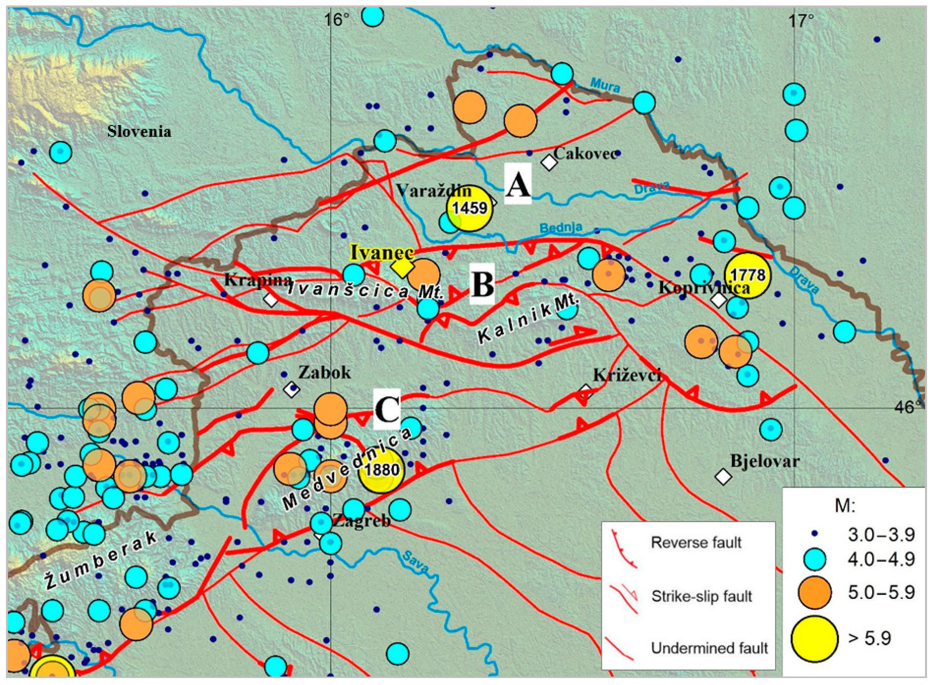 Geosciences Free Full Text Assessment Of The Seismic Site Amplification In The City Of Ivanec Nw Part Of Croatia Using The Microtremor Hvsr Method And Equivalent Linear Site Response Analysis Html