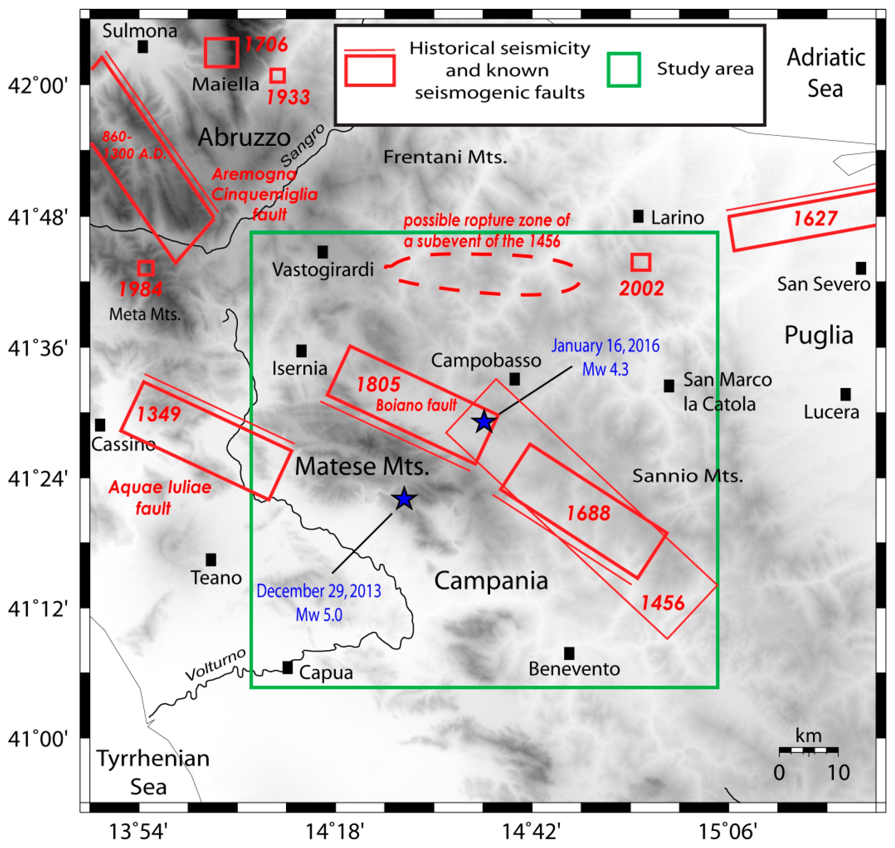 1627 Gargano earthquake
