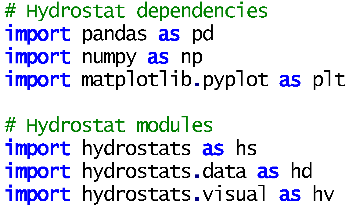 Hydrology | Free Full-Text | Hydrostats: A Python Package