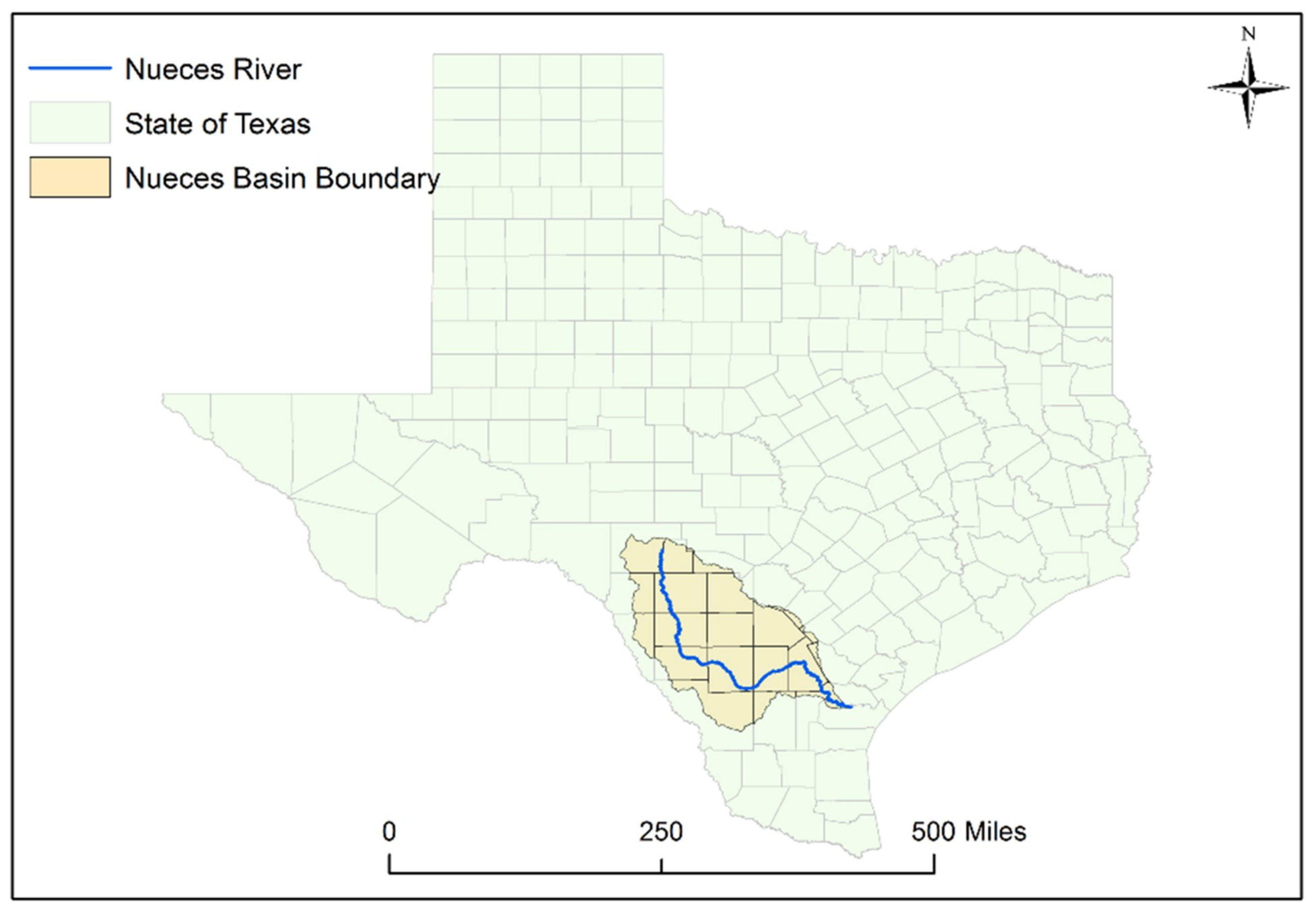 Map 31 Texas River Basins.Hydrology Free Full Text Hydrologic Trends In The Upper Nueces