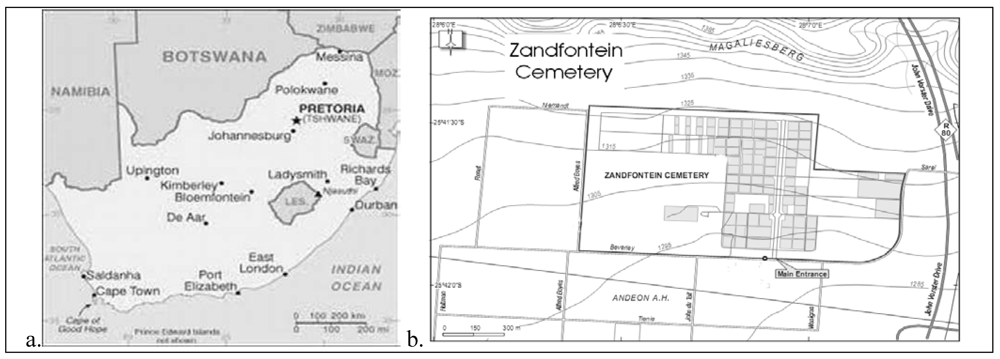 Zandfontein Kerkhof - Cemetery & Headstone Records