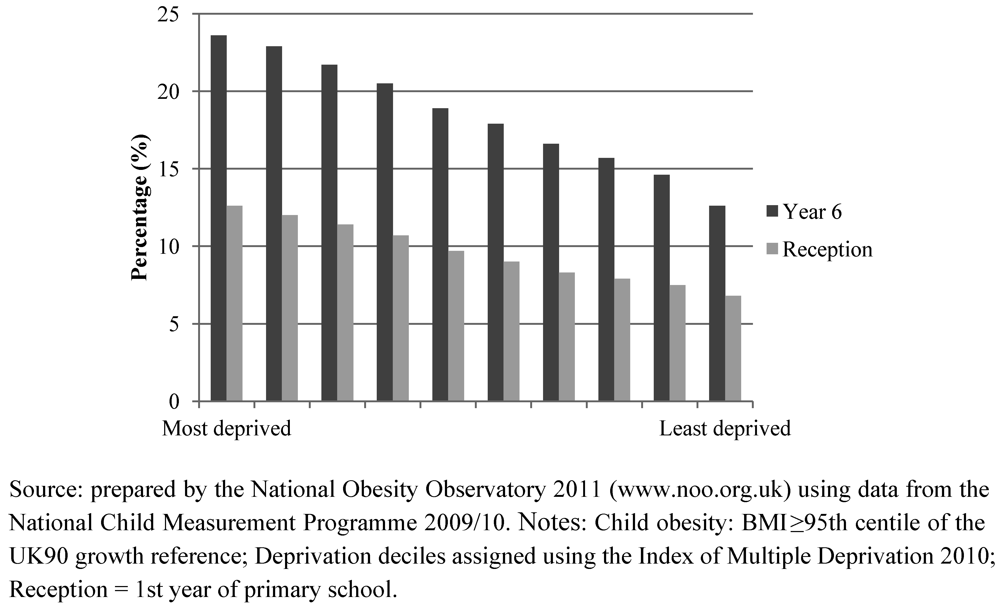 Effects of Socioeconomic Factors on Obesity Rates in Four Southern States and Colorado