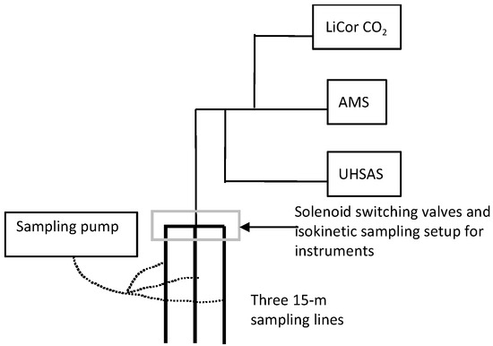 Ultrafine and Fine Particulate Matter Inside and Outside of Mechanically Ventilated Buildings