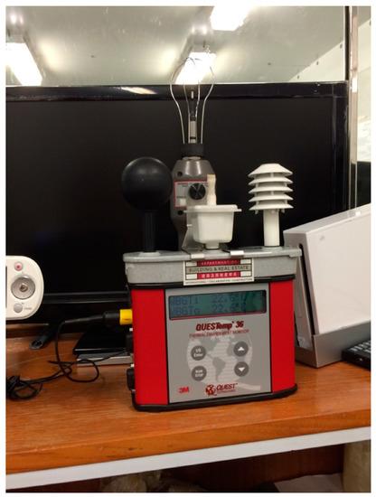 IST WBGT Heat Stress Monitor RSS-220 + NEW