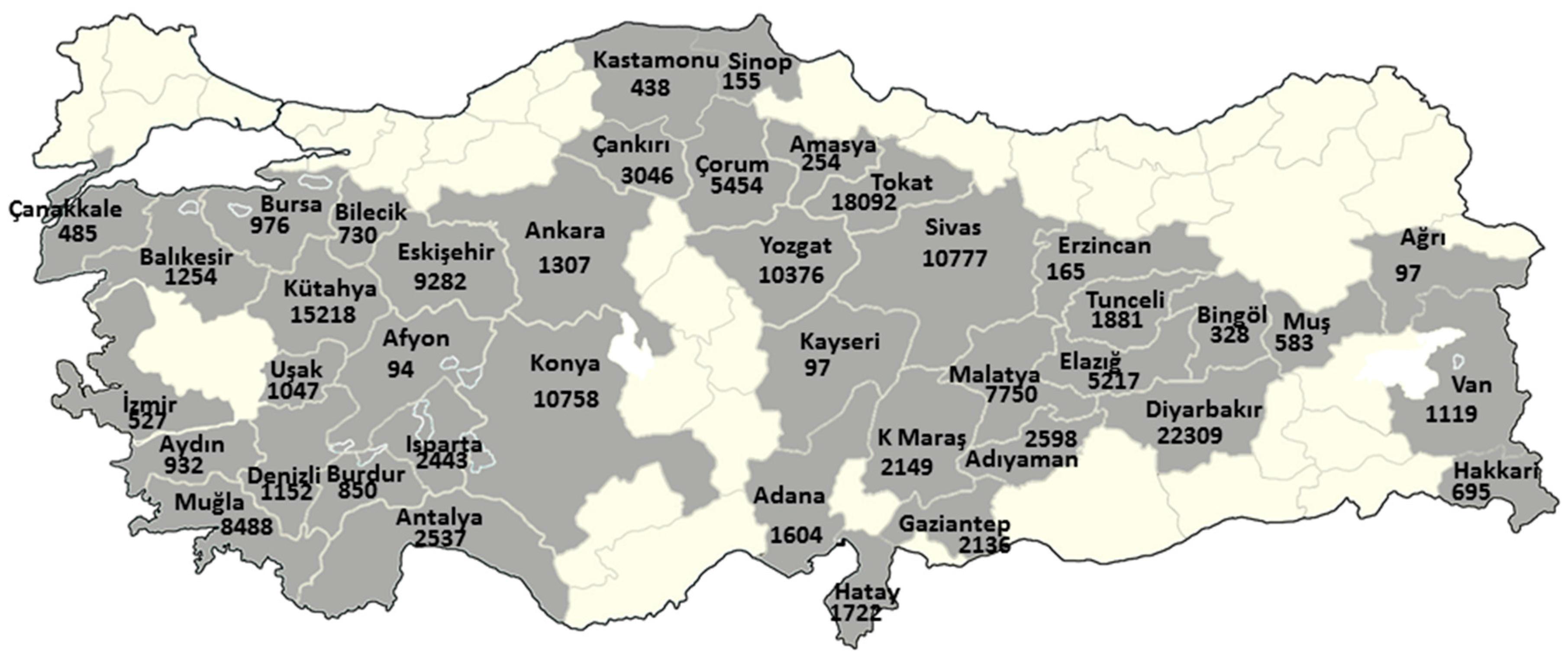 IJERPH Free FullText Turkey National Mesothelioma Surveillance