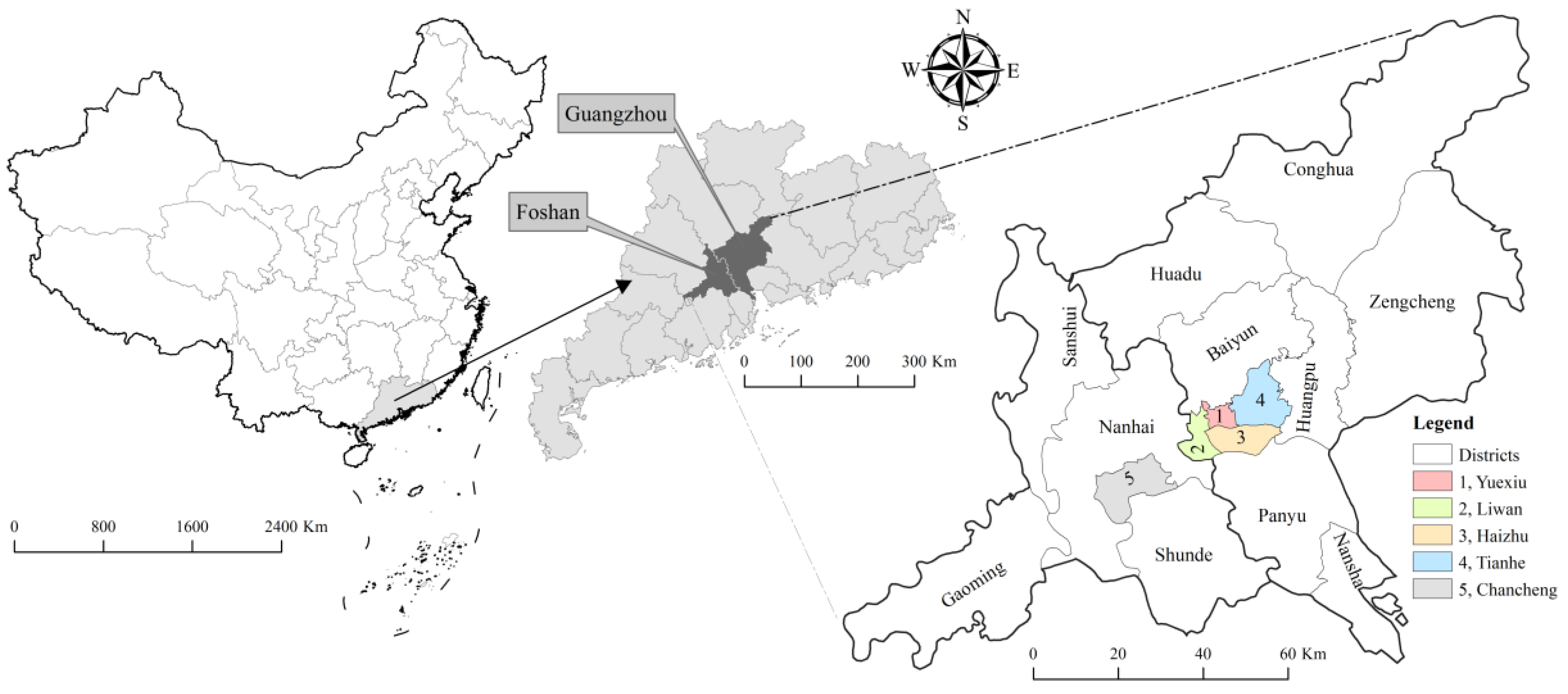 Exploring Determinants of Spatial Variations in the Dengue Fever Epidemic Using Geographically Weighted Regression Model: A Case Study in the Joint Guangzhou-Foshan Area, China, 2014