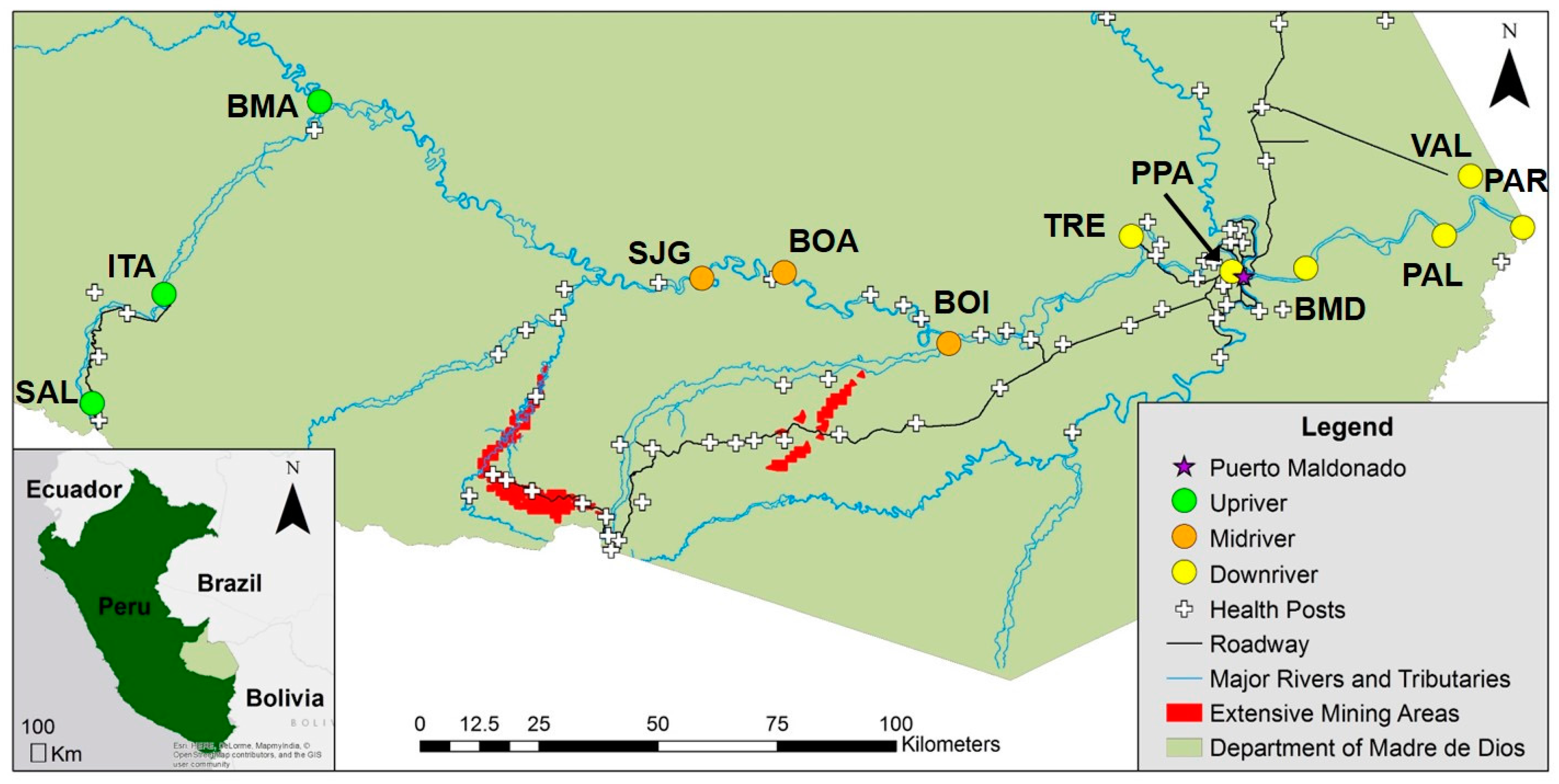 Ijerph free full text spatial temporal and dietary variables ijerph free full text spatial temporal and dietary variables associated with elevated mercury exposure in peruvian riverine communities upstream and publicscrutiny Images