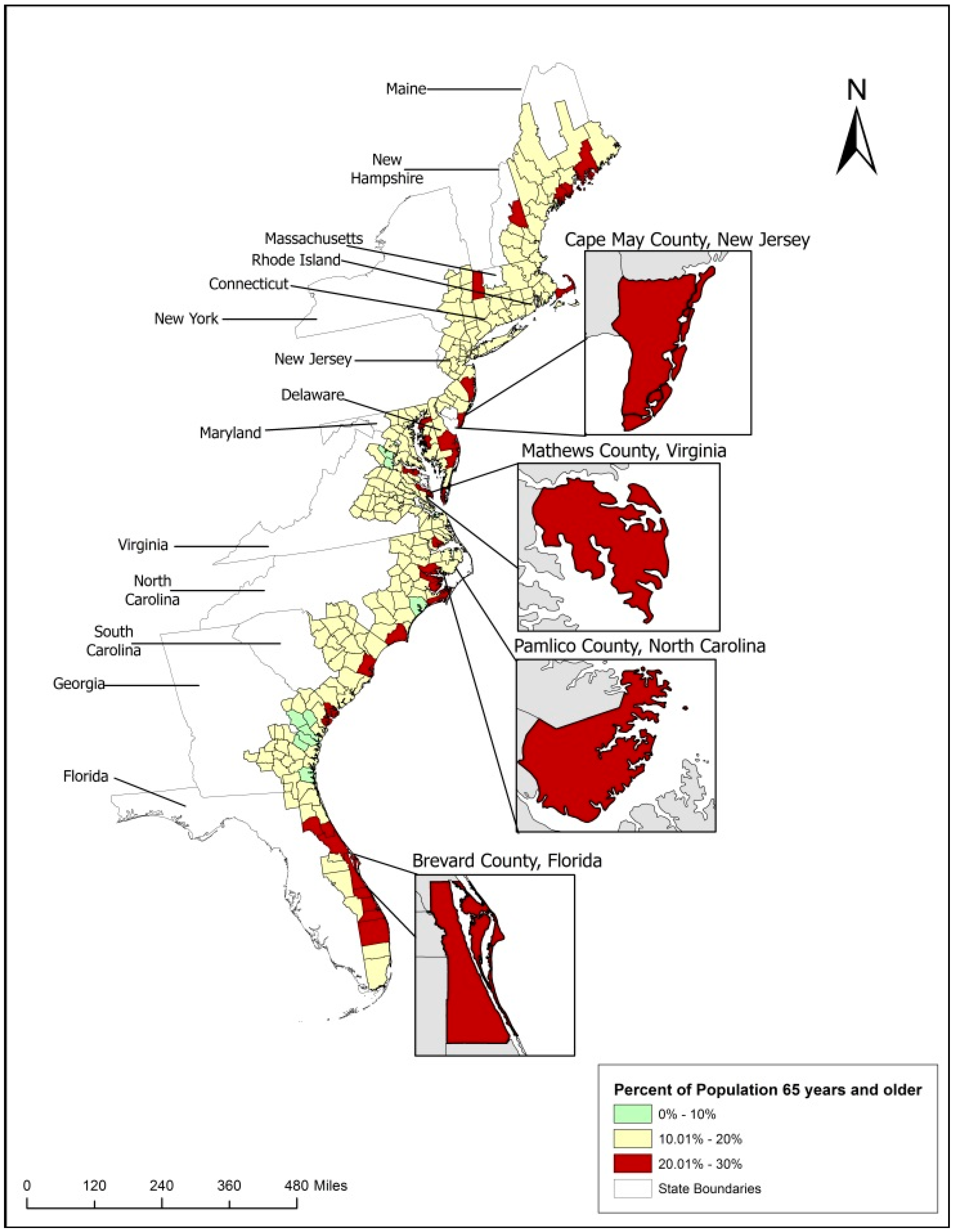 Ijerph Free Full Text Aging In Flood Prone Coastal Areas