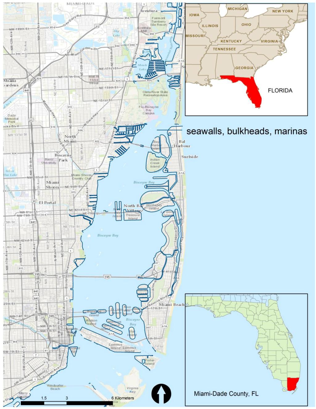 IJGI Free FullText A Collaborative Geospatial Shoreline - Florida uplands map