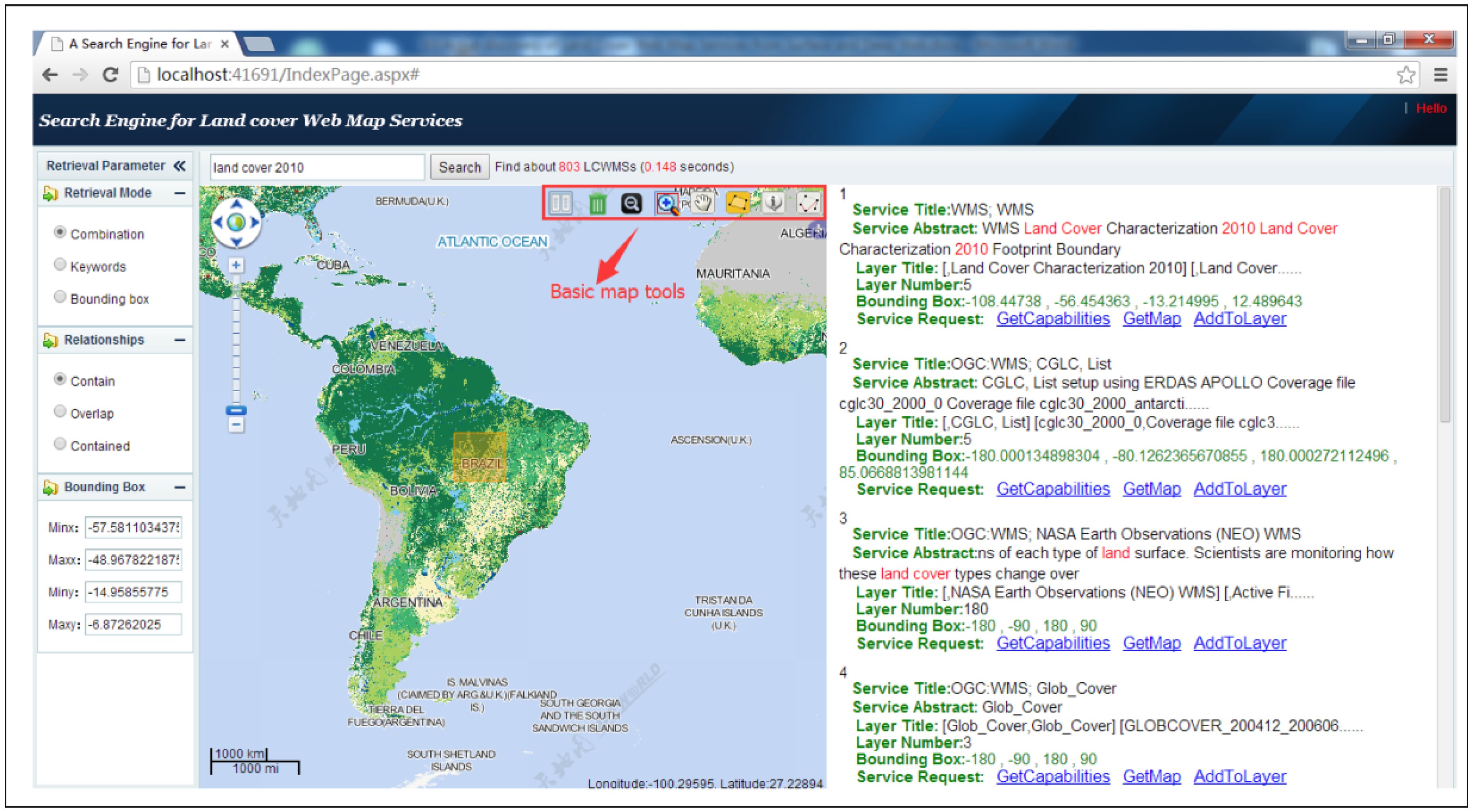 Ijgi free full text discovering land cover web map services from no gumiabroncs Image collections