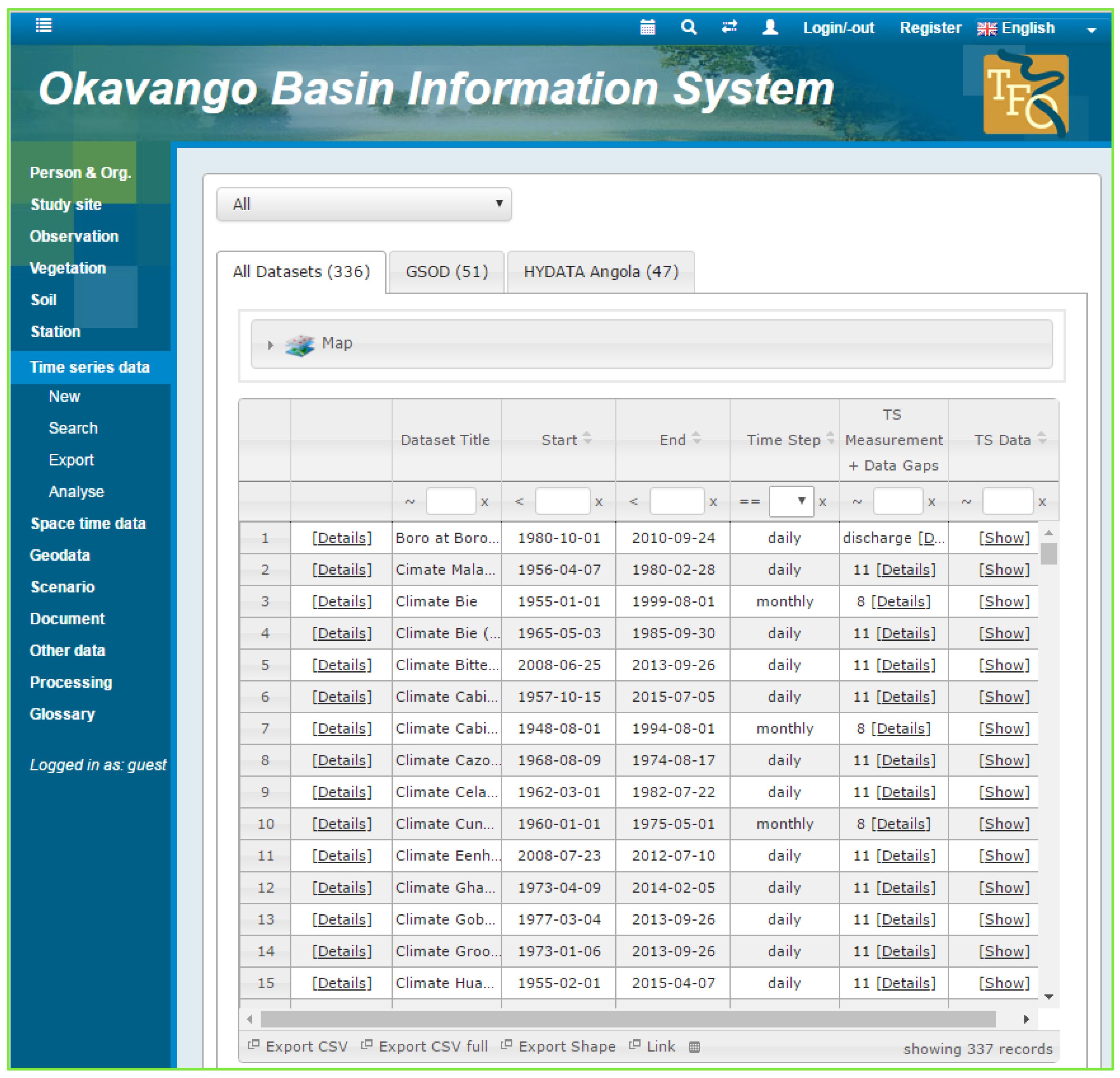 IJGI | Free Full-Text | River Basin Information System: Open