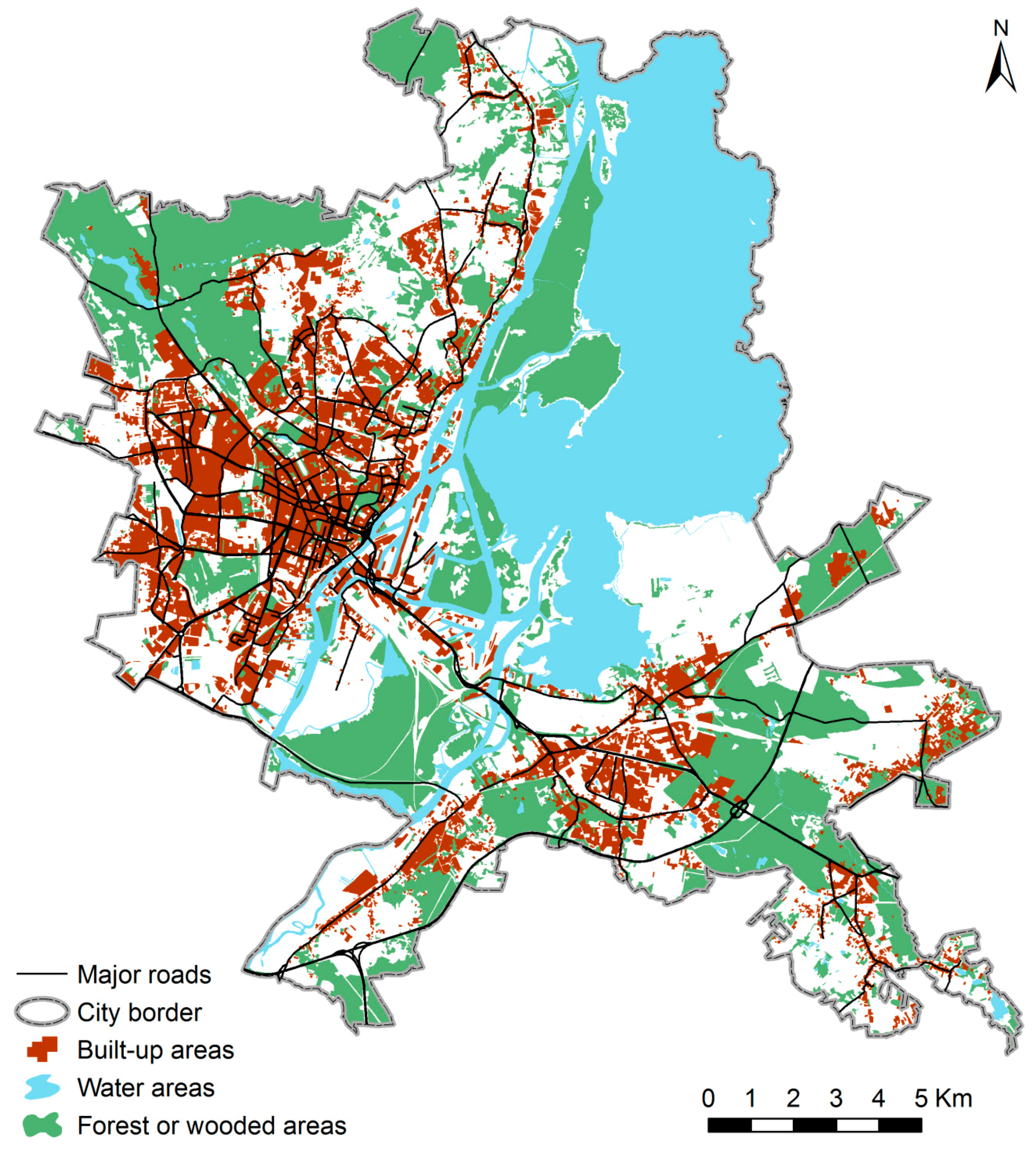IJGI | Free Full-Text | Land Use Influencing the Spatial