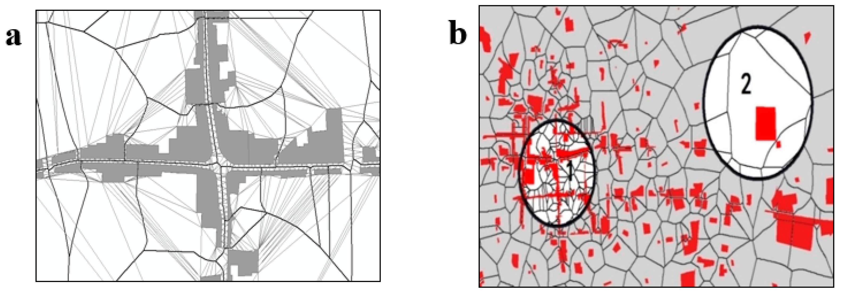 IJGI | Free Full-Text | Building an Urban Spatial Structure from