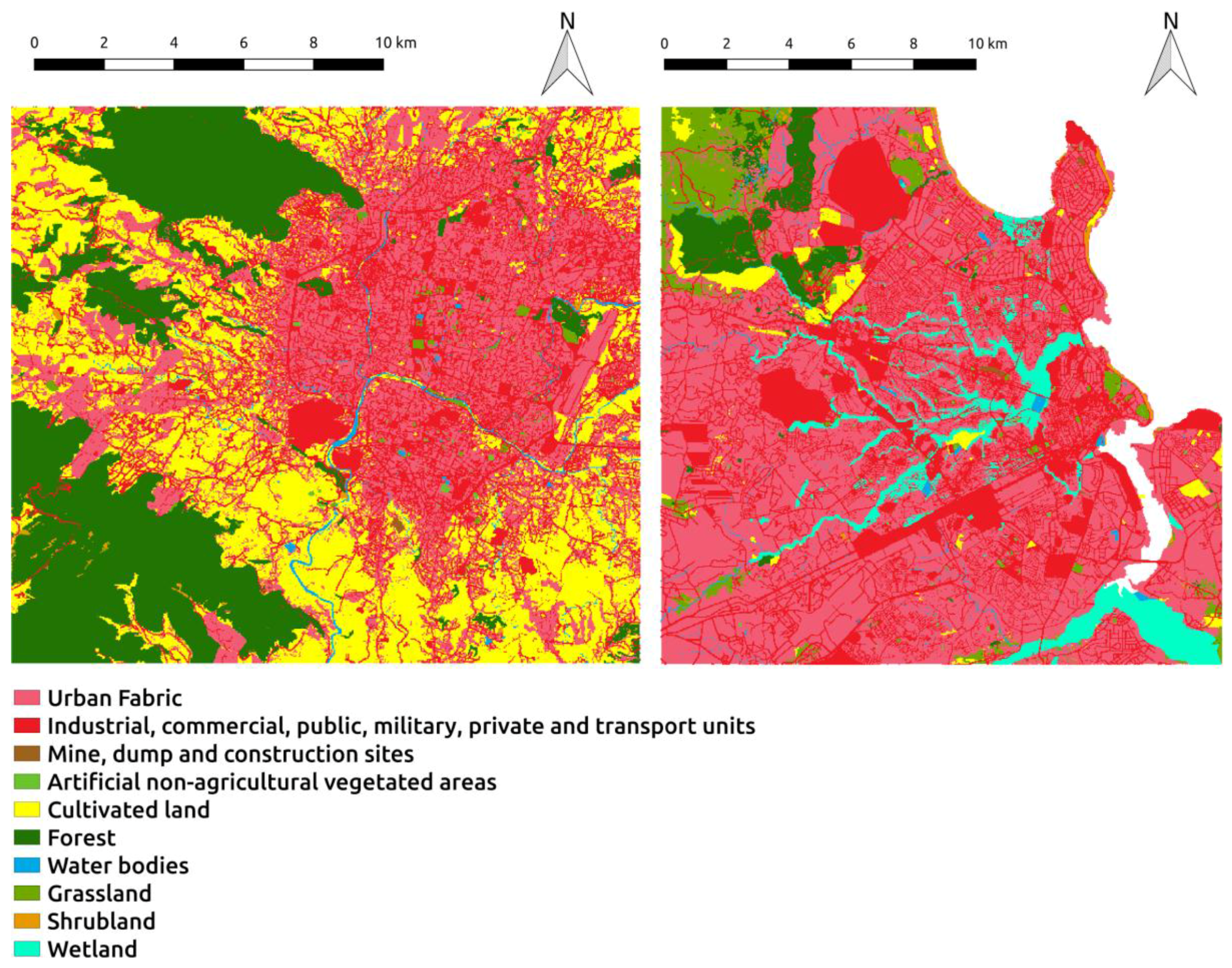 IJGI | Free Full-Text | Generating Up-to-Date and Detailed Land Use
