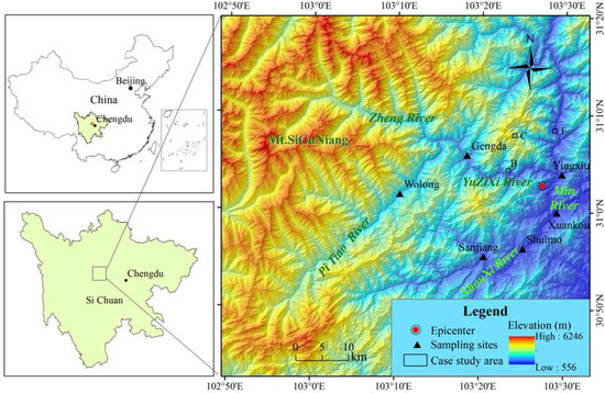 Integration of Landscape Metrics and Variograms to Characterize and Quantify the Spatial Heterogeneity Change of Vegetation Induced by the 2008 Wenchuan Earthquake