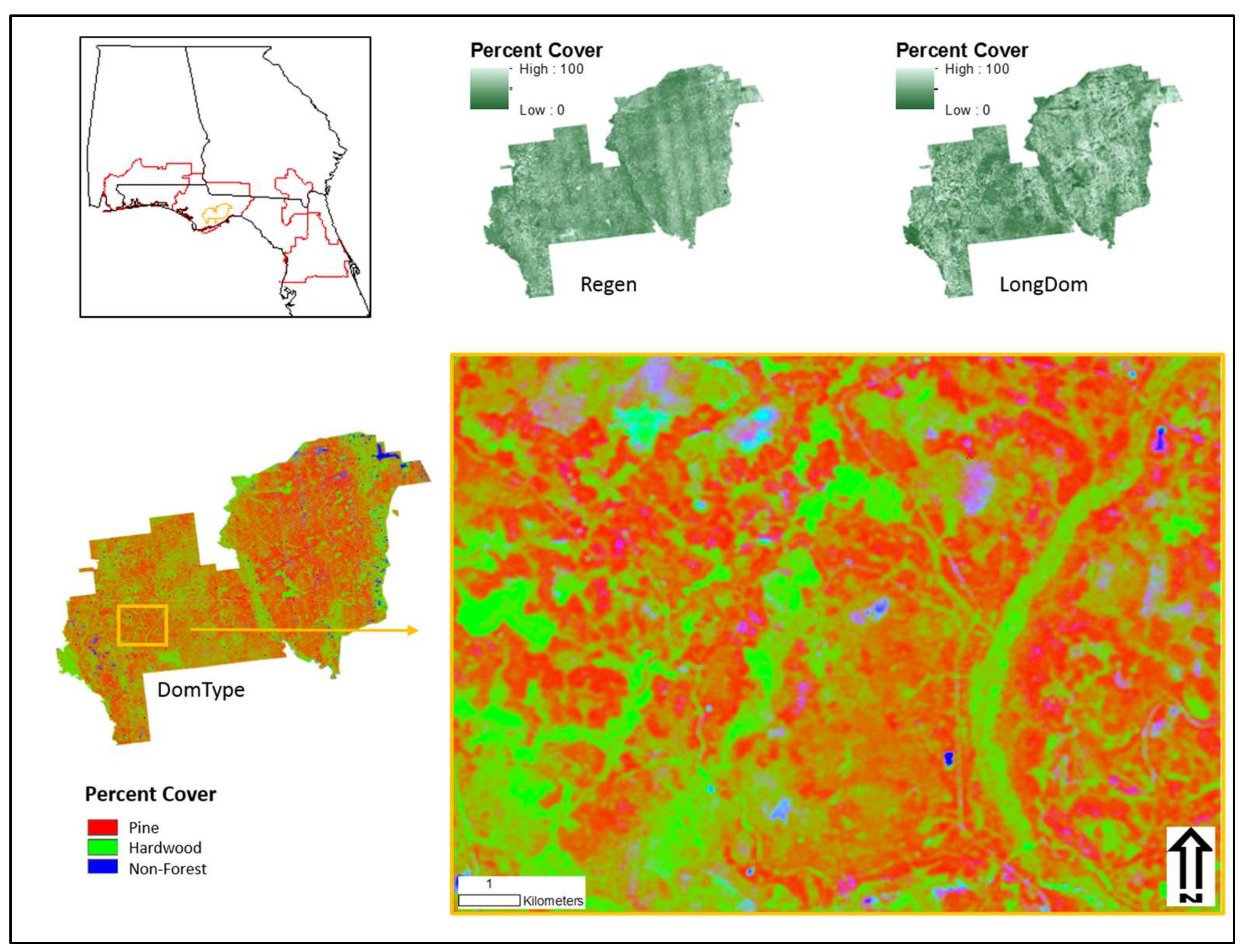 ijgi free full text mapping forest characteristics at fine rh mdpi com Garmin Boat GPS Garmin Hunting GPS Units