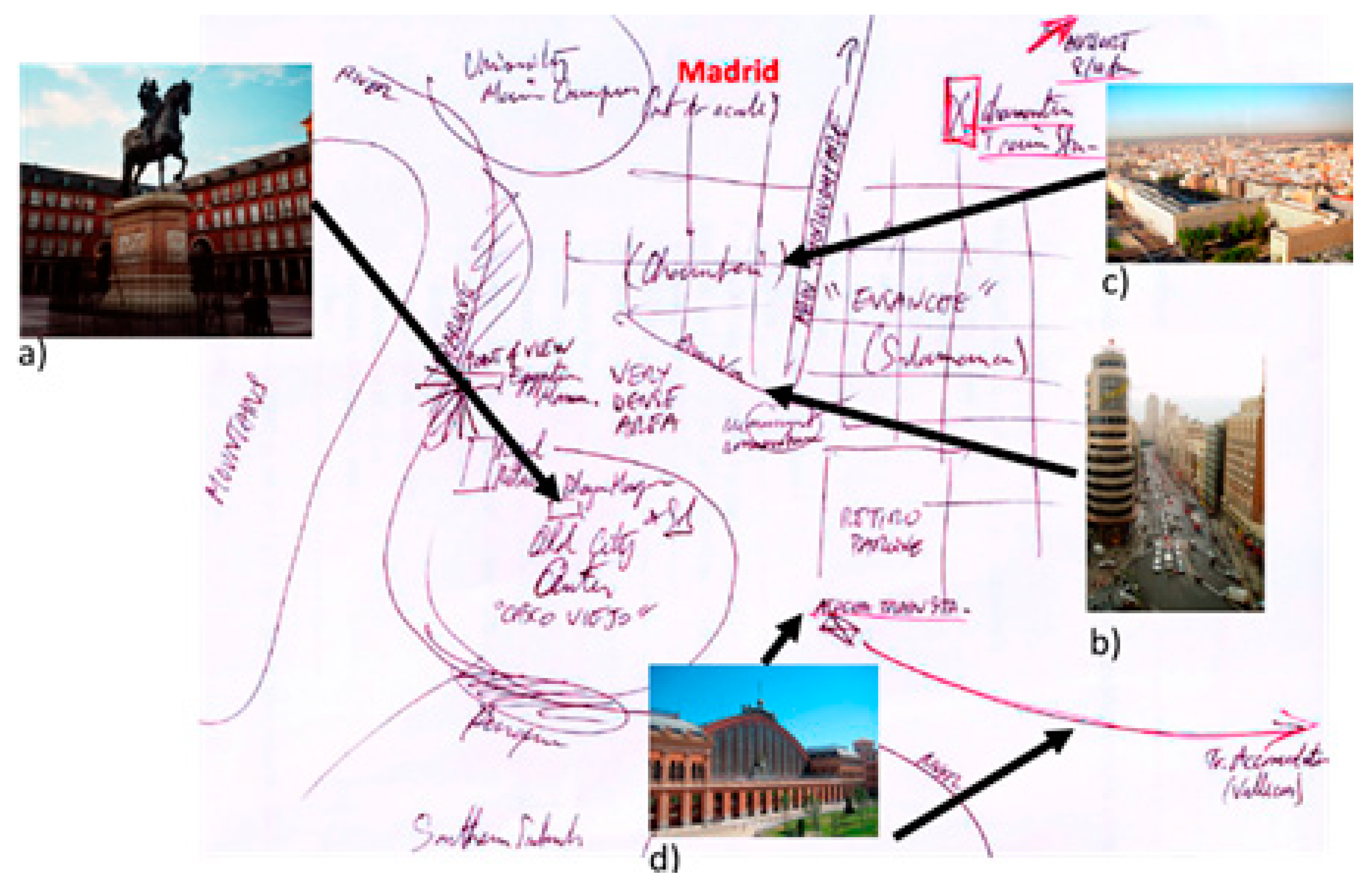 Madrid Spain Map Tourist.Ijgi Free Full Text Using The Spatial Knowledge Of Map Users To