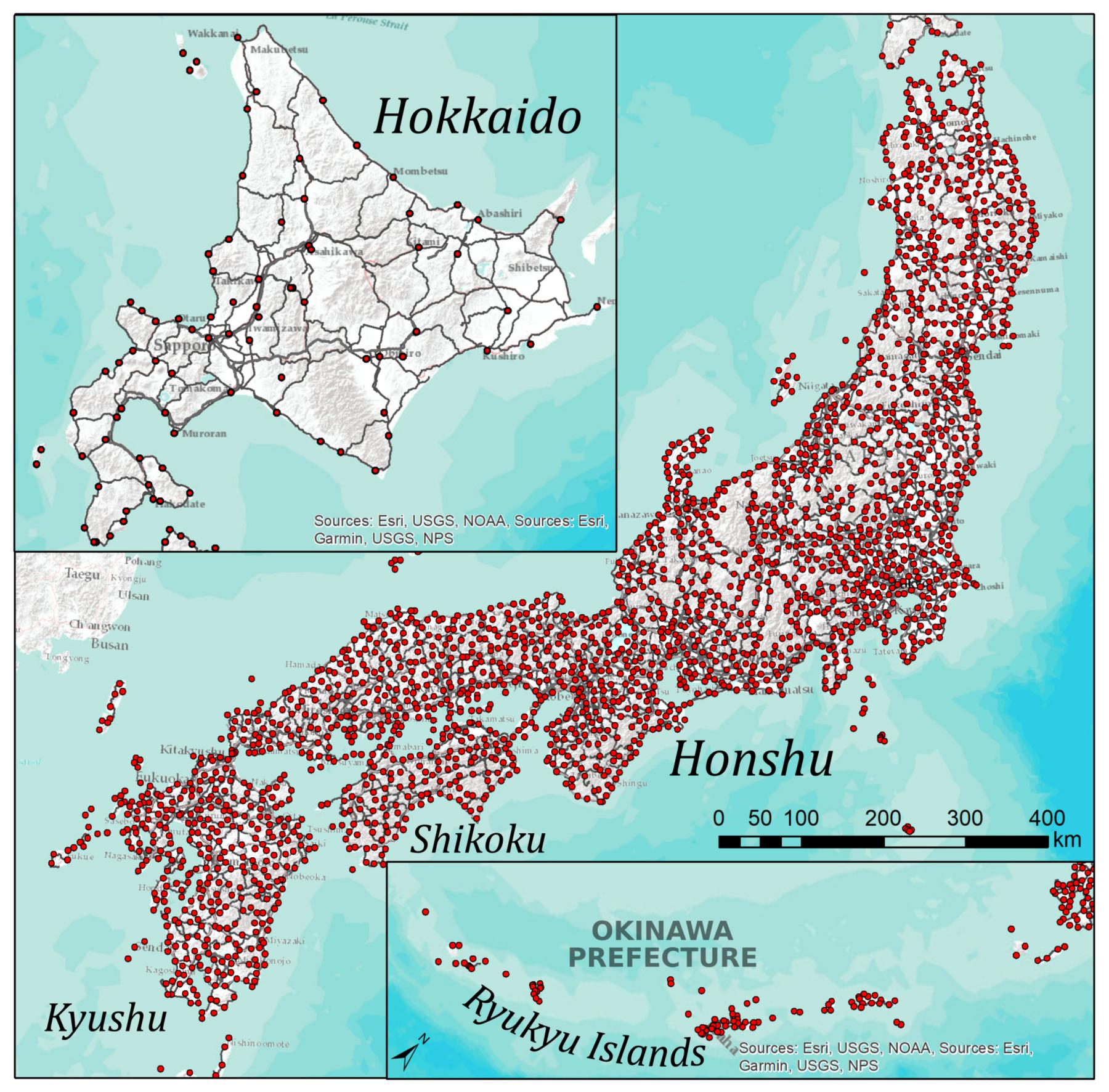 IJGI | Free Full-Text | Japanese Lexical Variation Explained