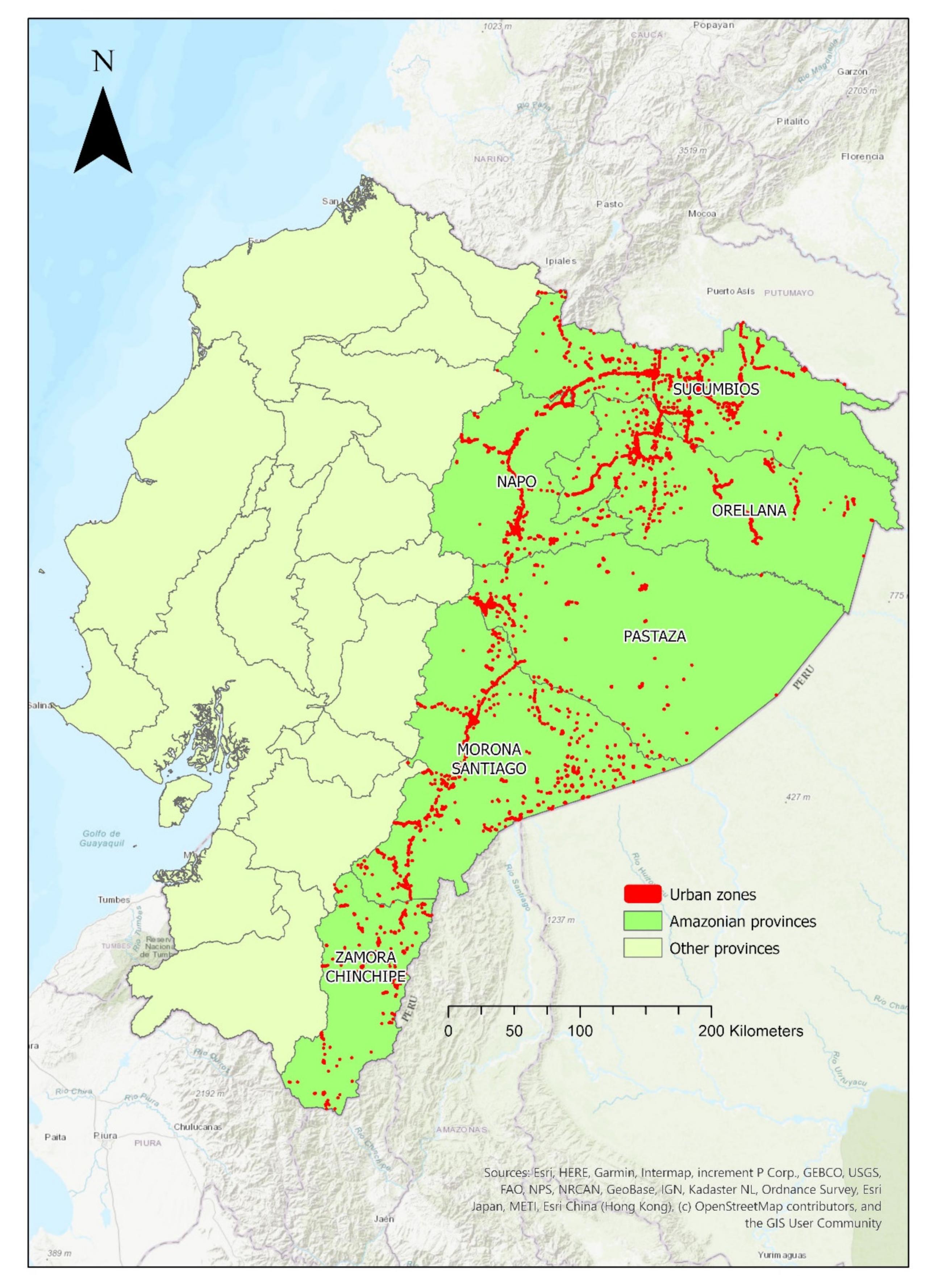 Ijgi Free Full Text Generating And Mapping Amazonian Urban