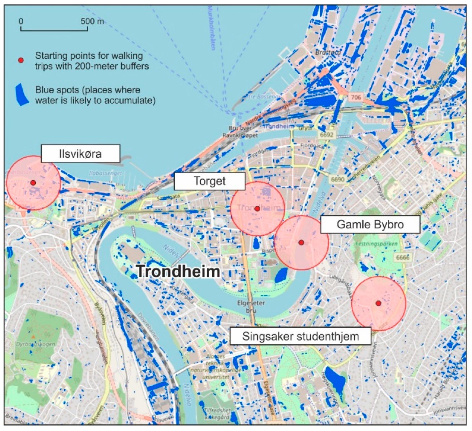Flybussen Trondheim Map