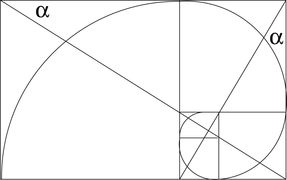 how to draw a logarithmic spiral