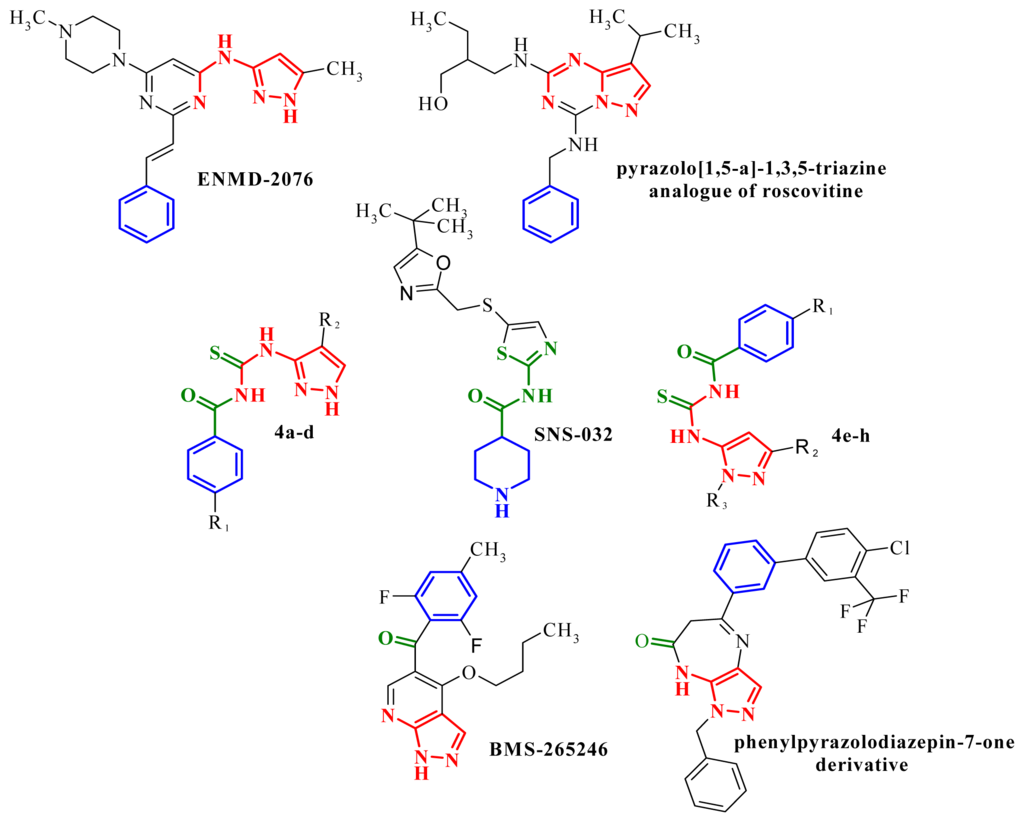 Image result for N-(Cycloalkylamino)acyl-2-aminothiazole Inhibitors of Cyclin-Dependent Kinase 2. N-[5-[[[5-(1,1-Dimethylethyl)-2-oxazolyl]methyl]thio]-2-thiazolyl]-4- piperidinecarboxamide (BMS-387032), a Highly Efficacious and Selective Antitumor Agent,