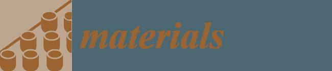 Materials — Open Access Journal
