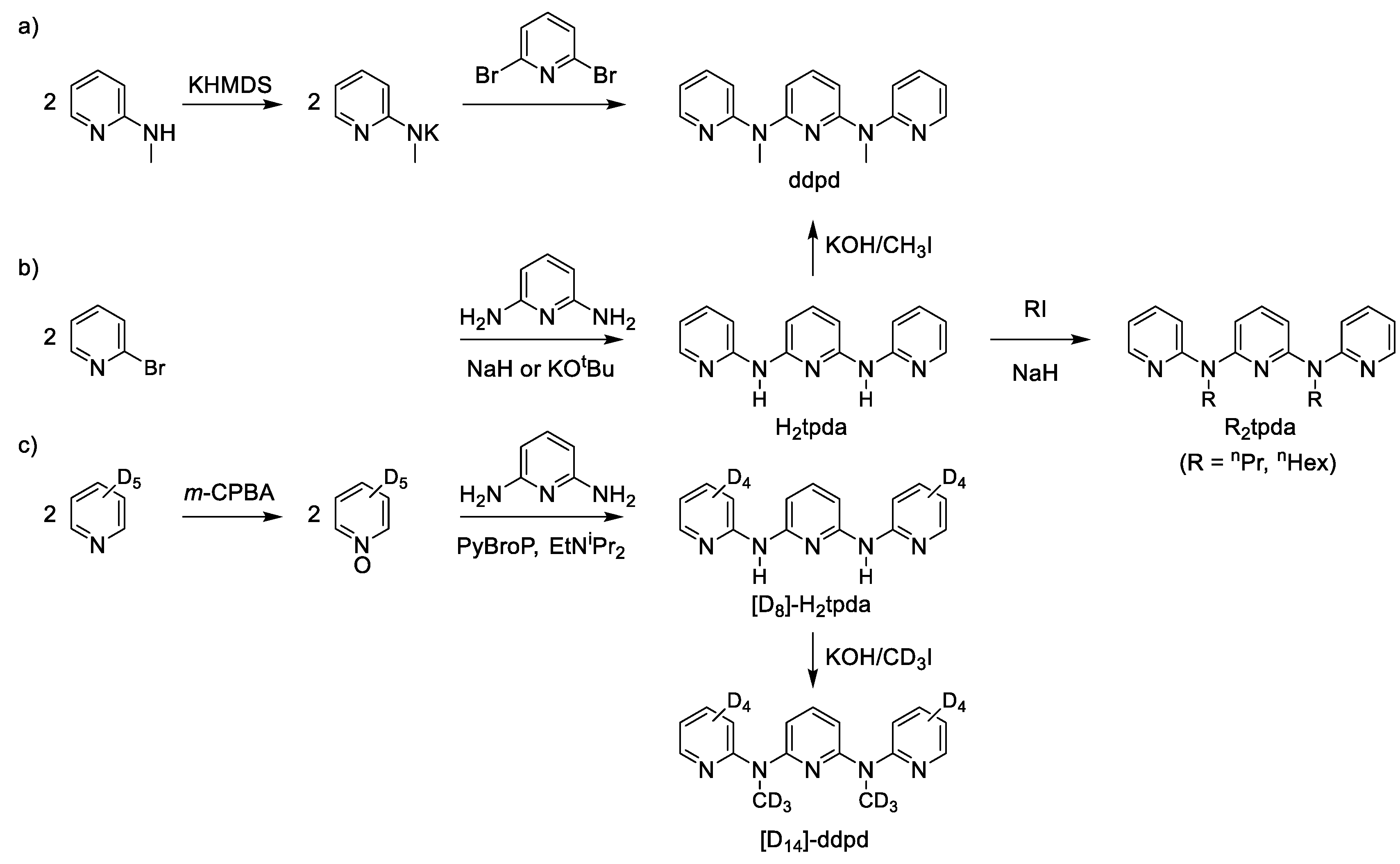 Inorganics | Free Full-Text | Ddpd as Expanded Terpyridine